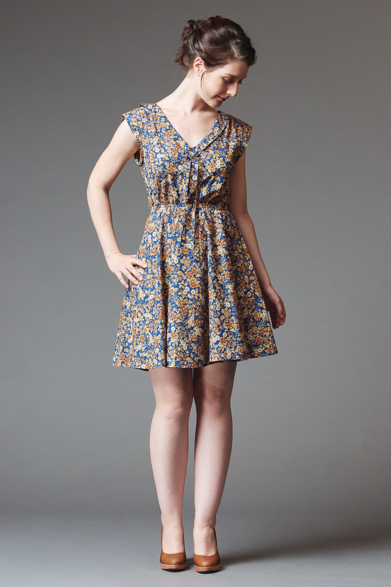 Deer and Doe Patterns - Reglisse Dress