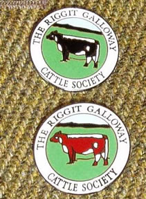 Official RGCS lapel badges  Both black or red Riggits available  Cost £5 plus postage  Already sent all over the UK and as far afield as Australia