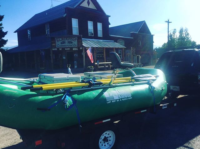 Delivering boats to your favorite town, at your favorite time of day, on your favorite stretch of fishing water is bittersweet. Mostly sweet . Summer Harder!
