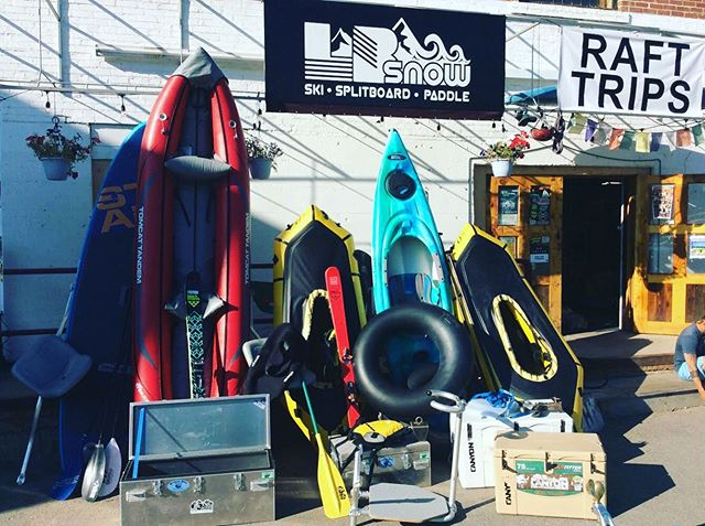 Used Rental Gear Sale and Boat Swap August 3rd, at LB Snow! 12-6pm. This is your chance at some great deals on packrafts, IKs, Coolers, Dry Boxes, Paddleboards and more!