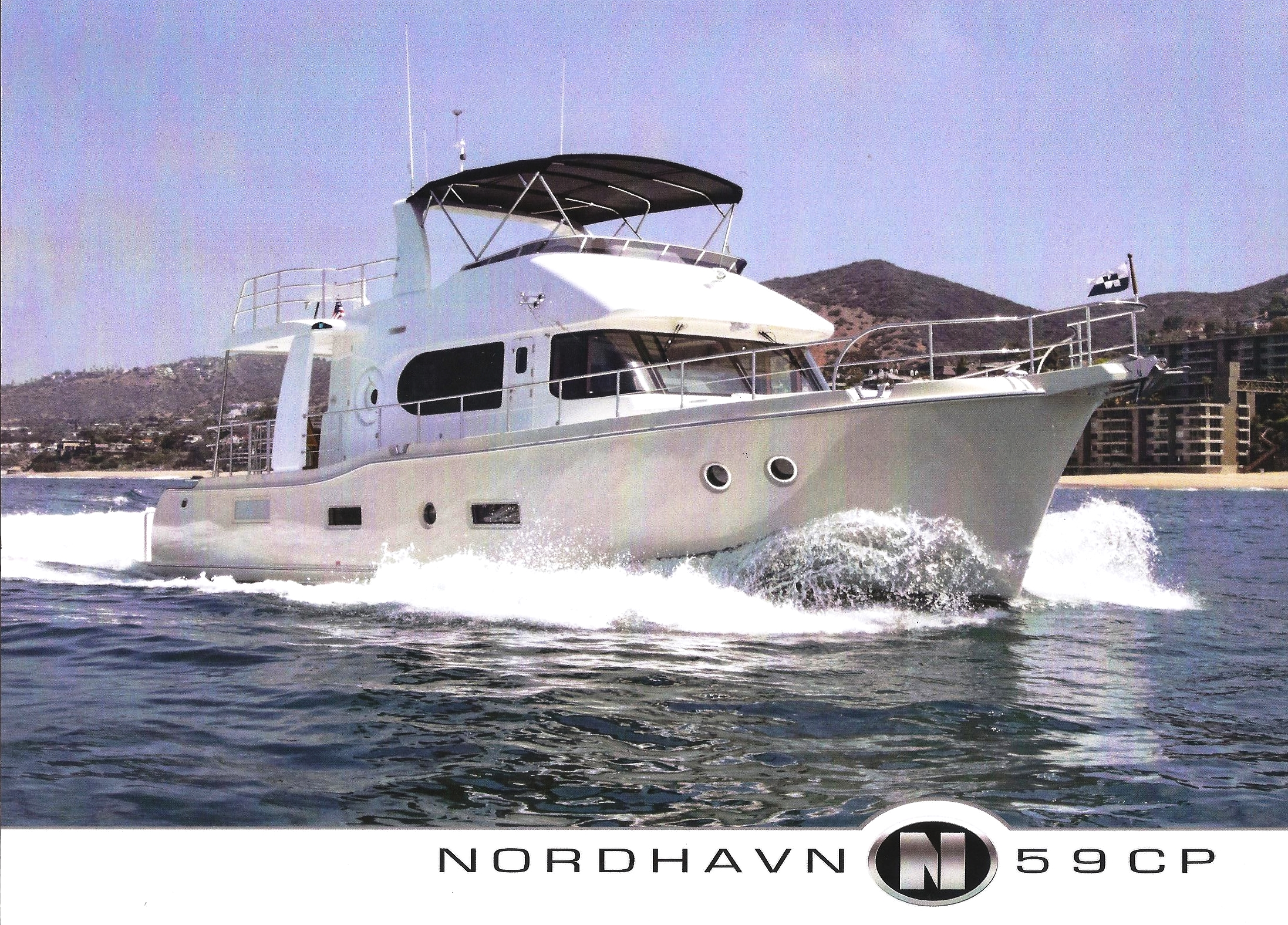 The Nordhavn Sales Brochure Hull No. 1 - our boat