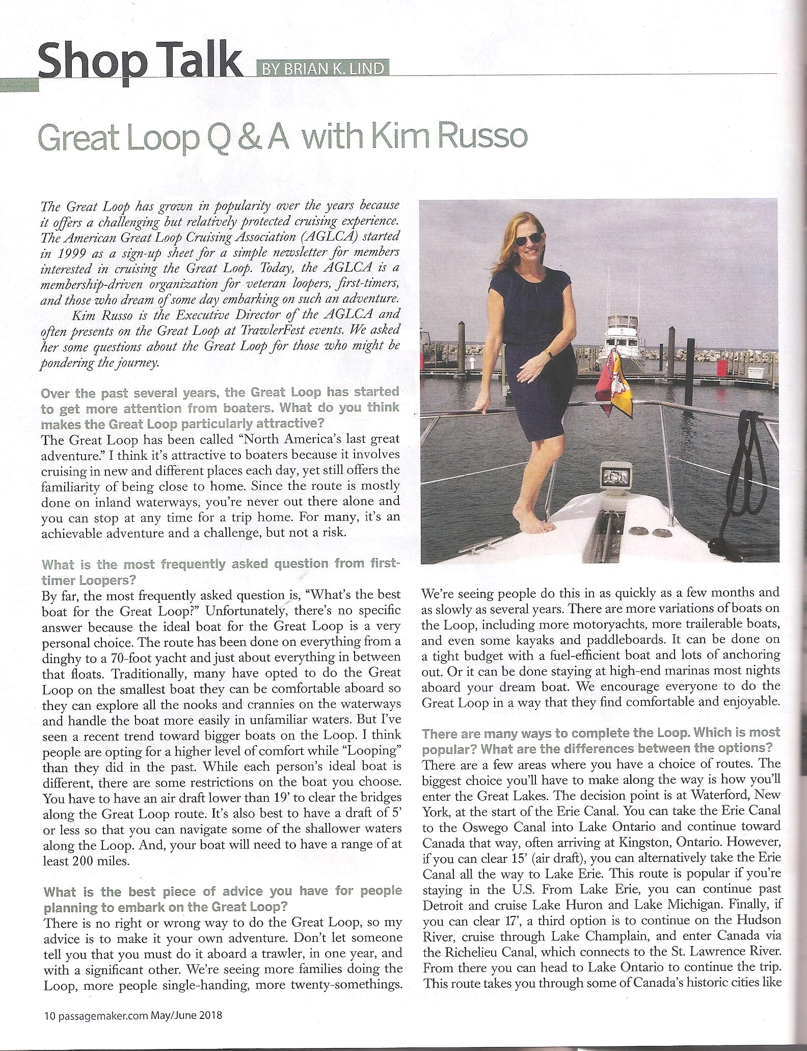 Page One of Two courtesy Passage Maker magazine
