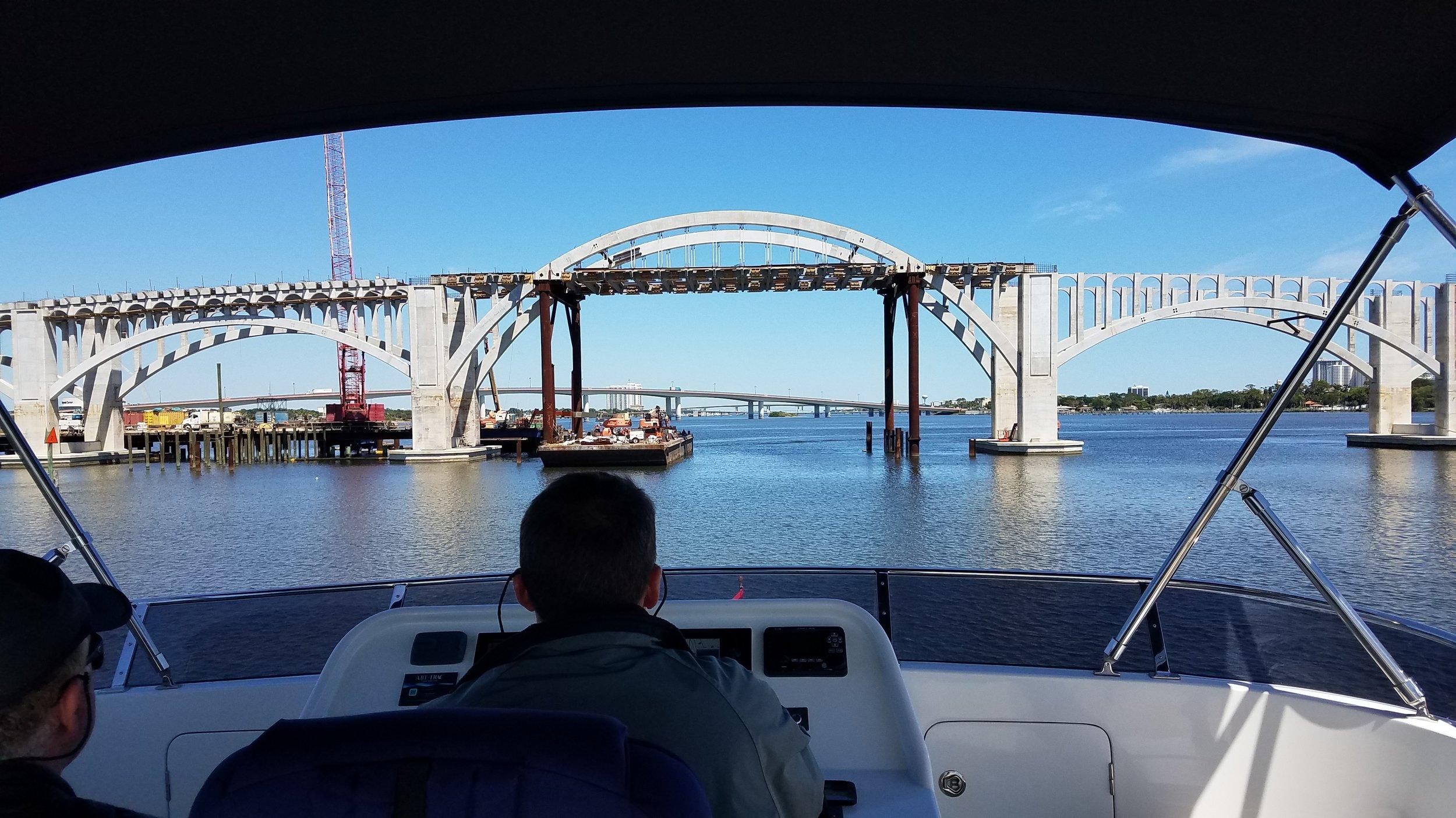 Building new bridges in Daytona, FL