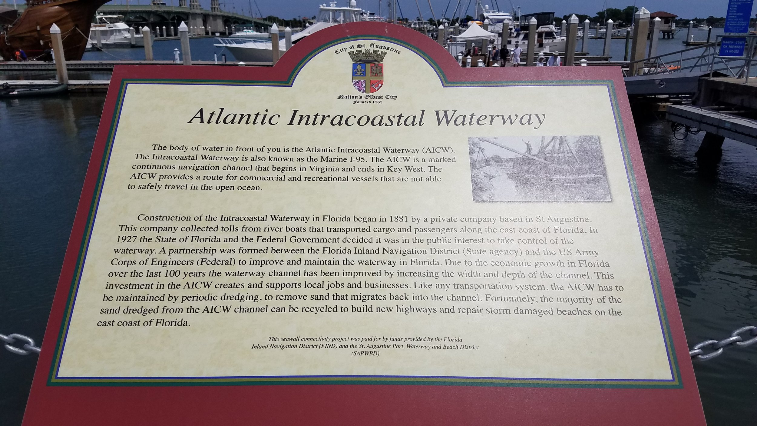 A little history on the ICW