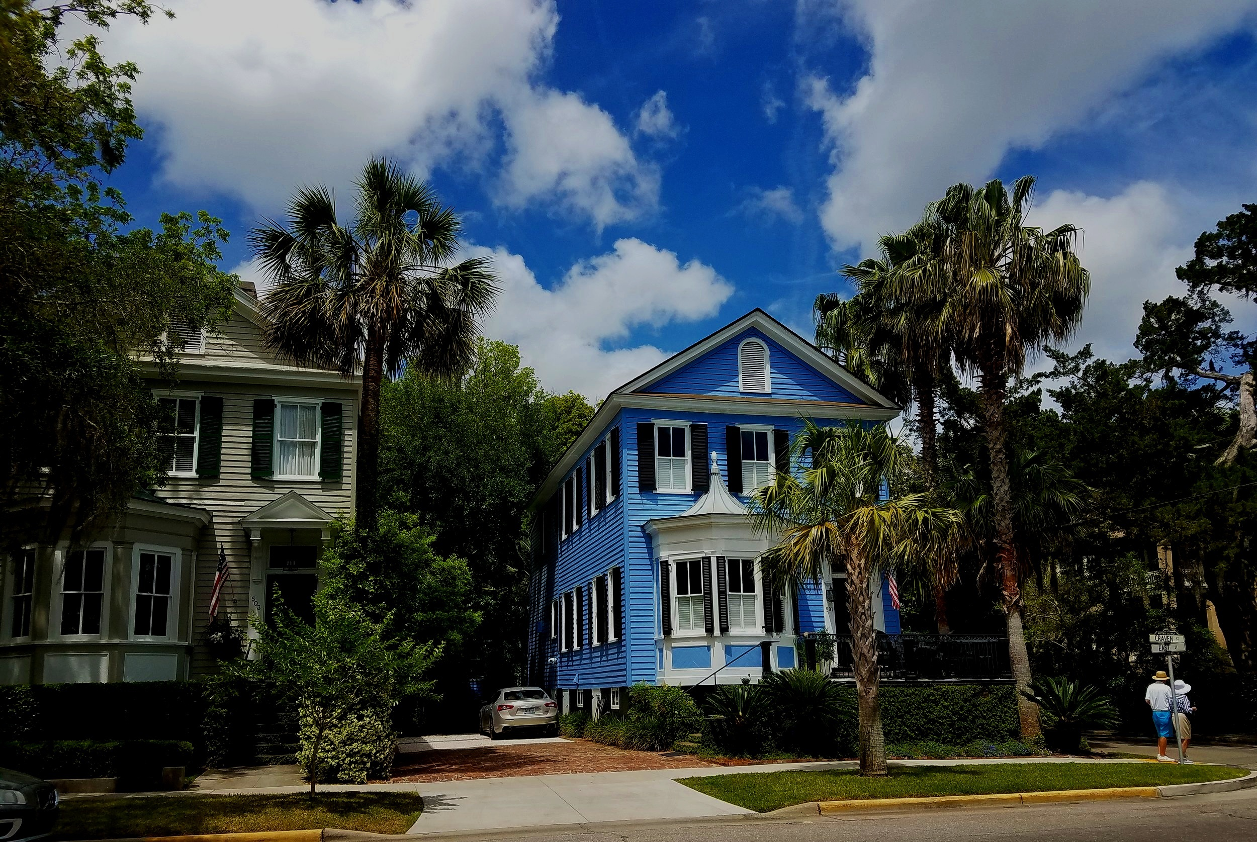 Twin homes…plain and fancy…