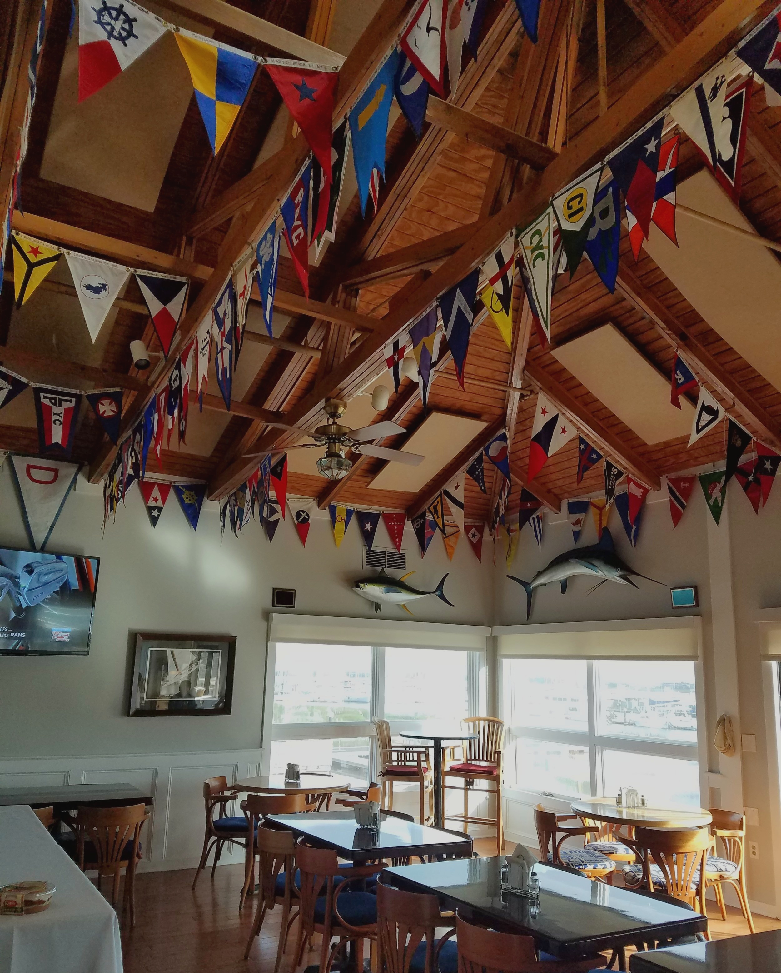 SFYC burgee made the cut!