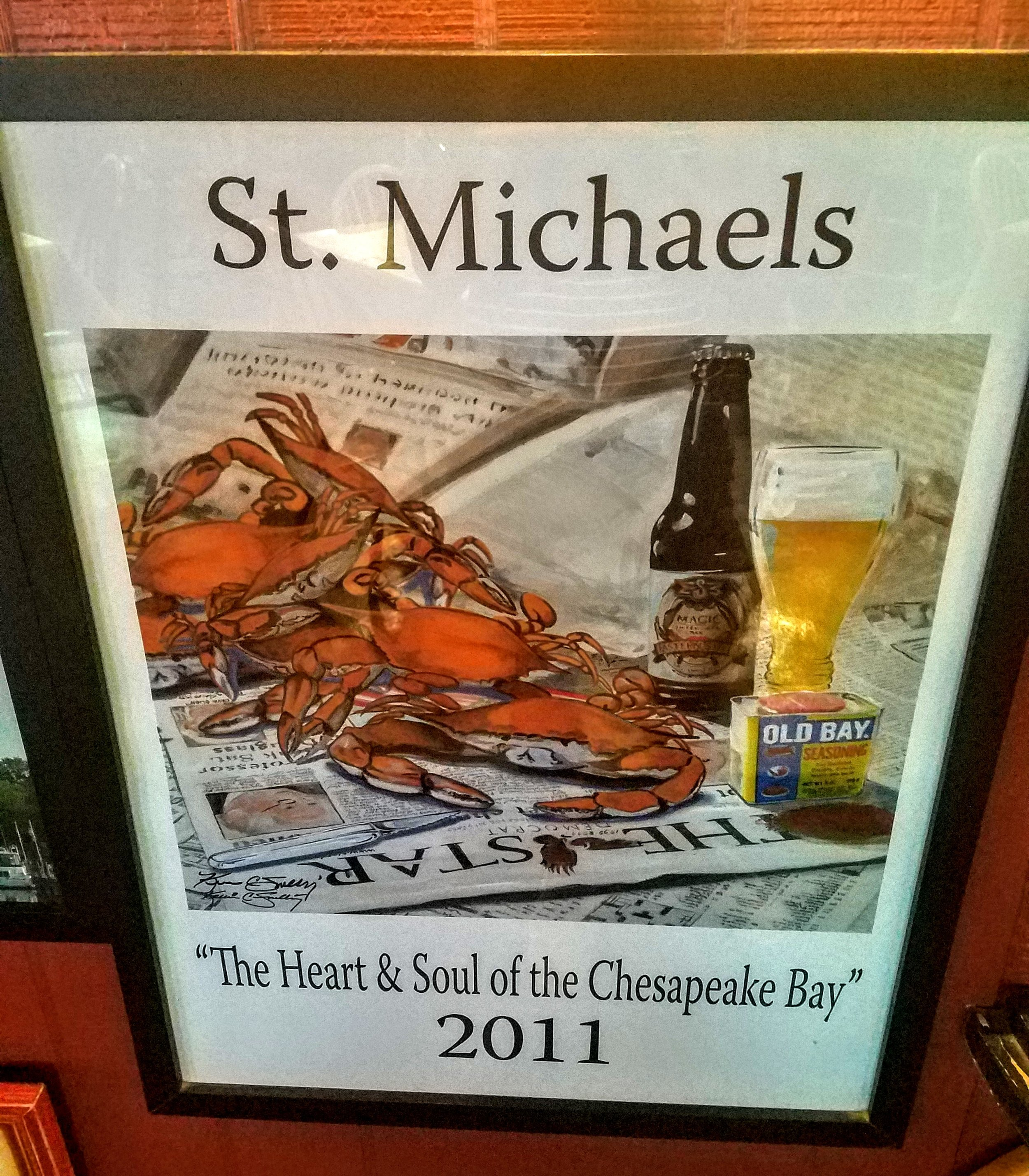 Famous for their blue crab