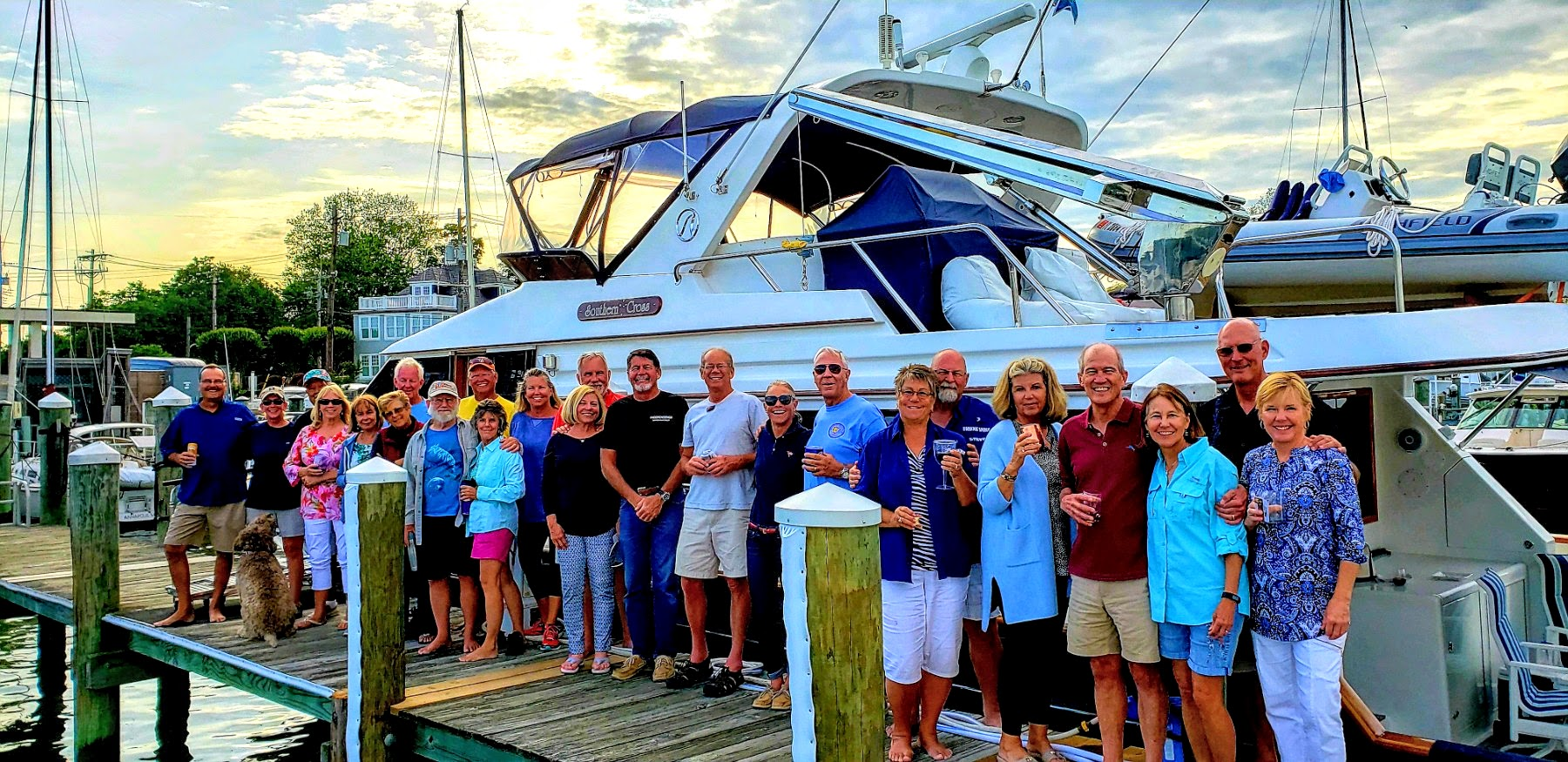 The Looper's Docktail Party hosted by Penny Battles and Dave Burnes on their boat Southern Cross
