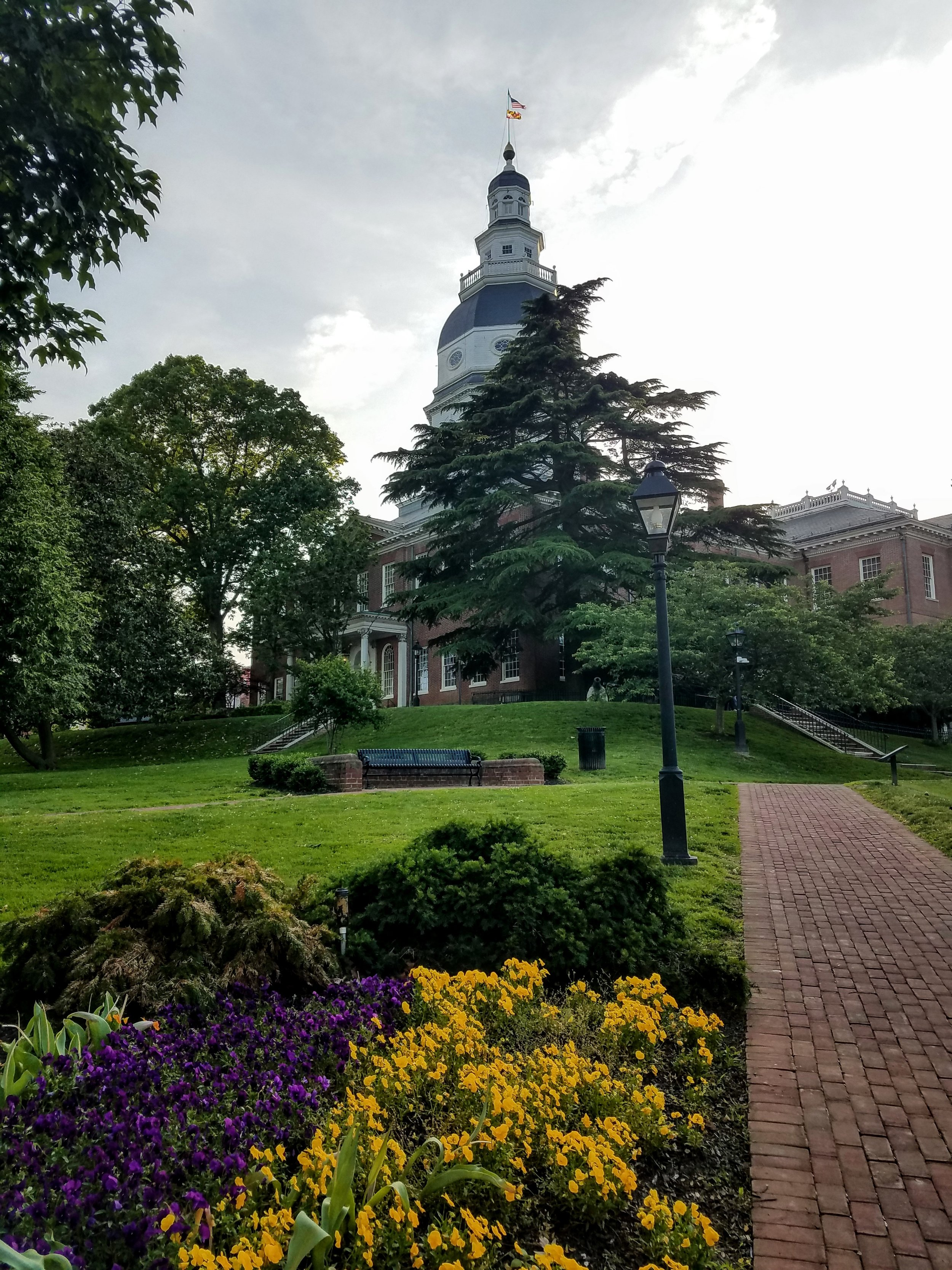 The pretty Statehouse