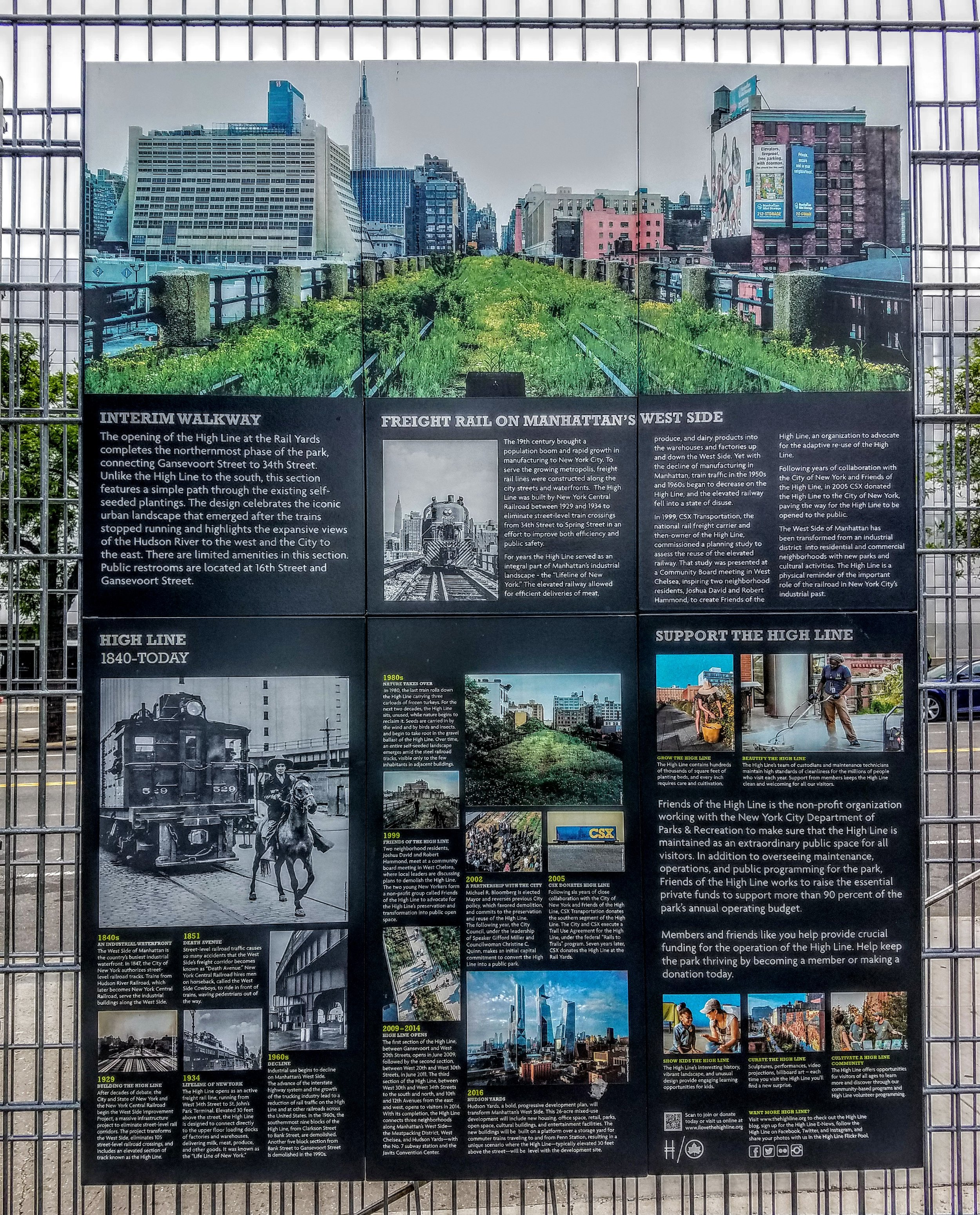 A little info on the High Line and its origins