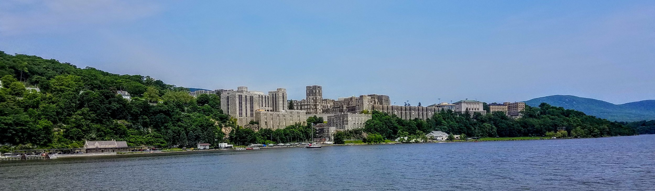 West Point Academy from the water