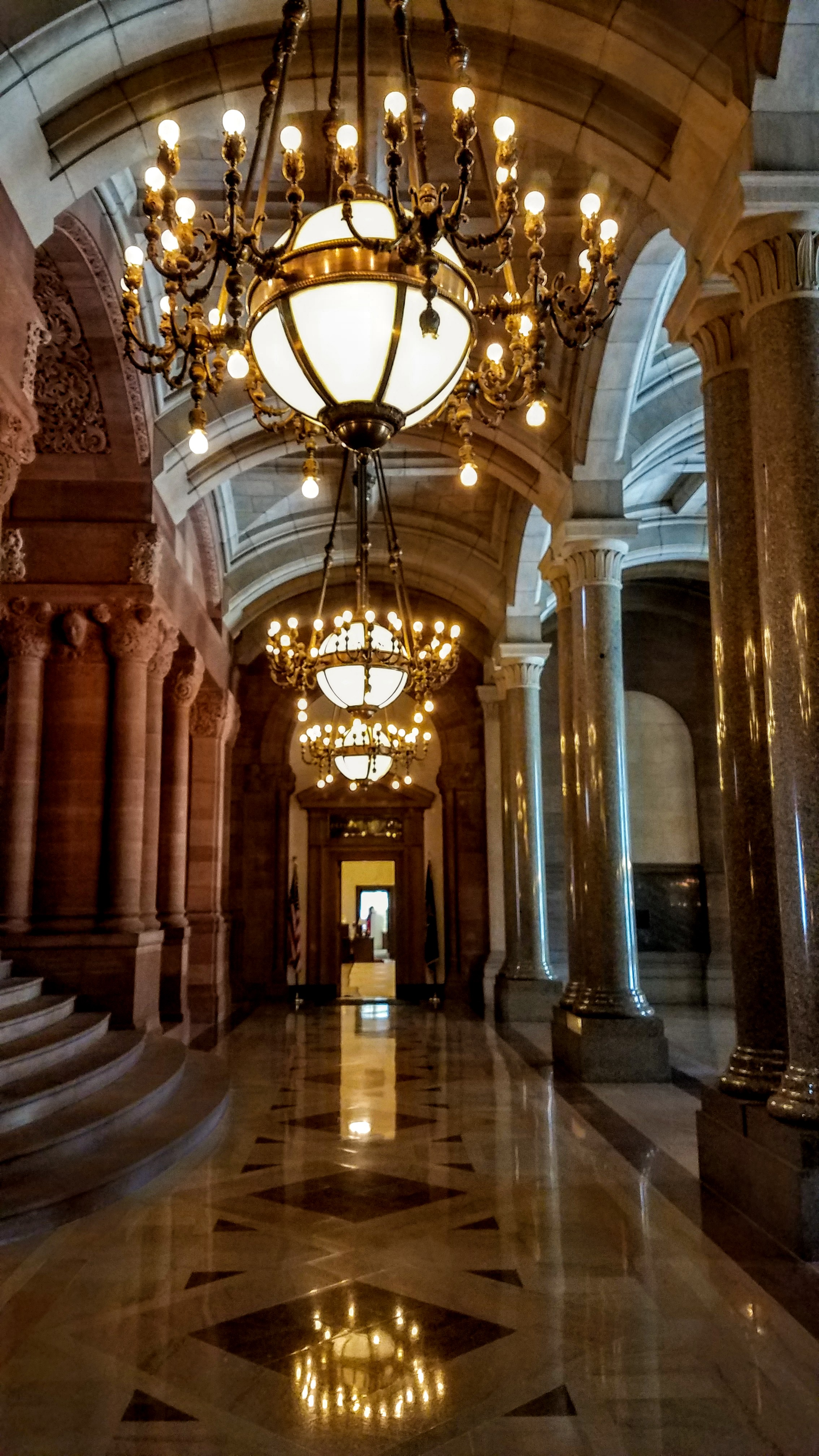 Inside the State Capitol