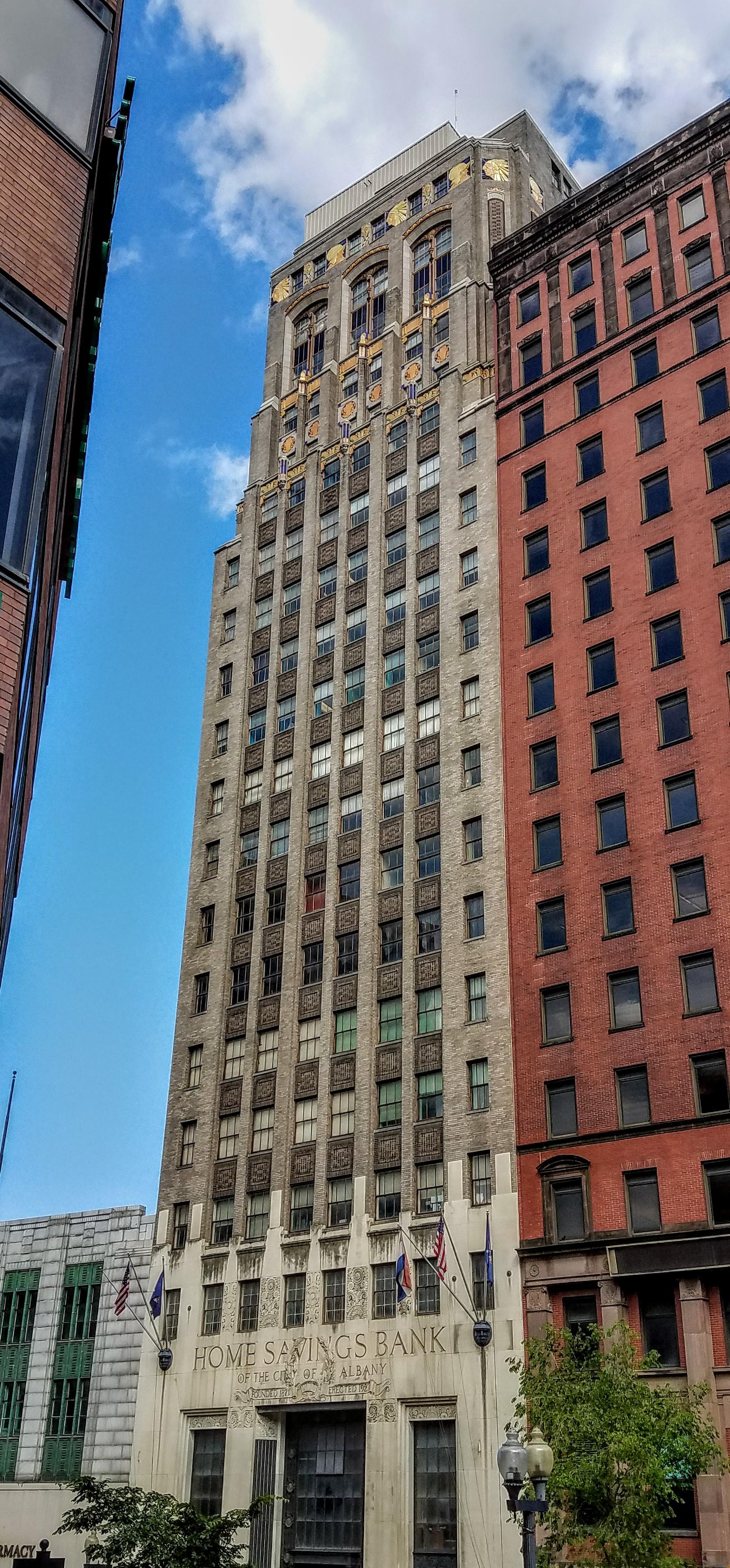 Art deco buildings in Albany, NY