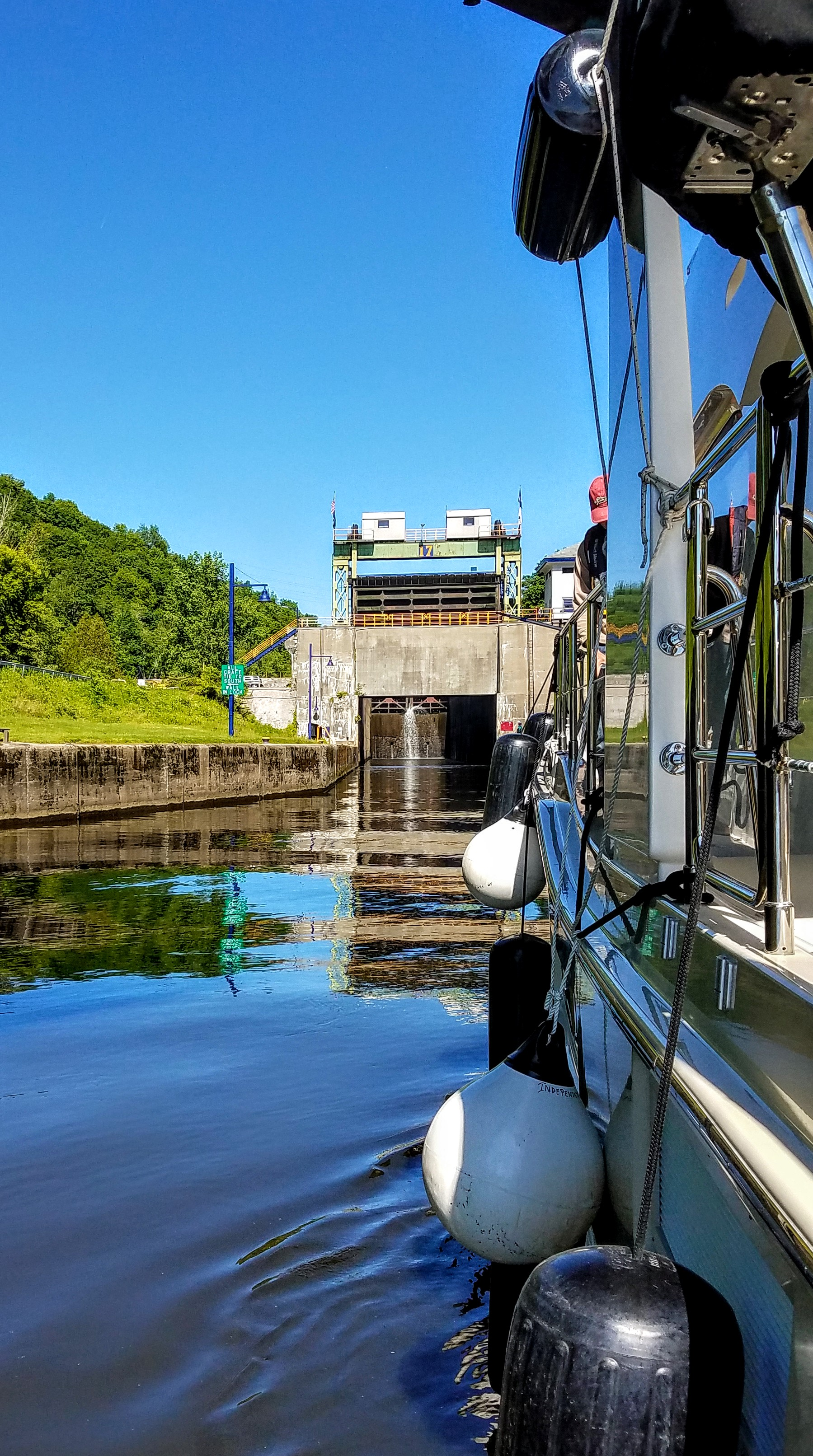 Lock 17…the 40 footer!