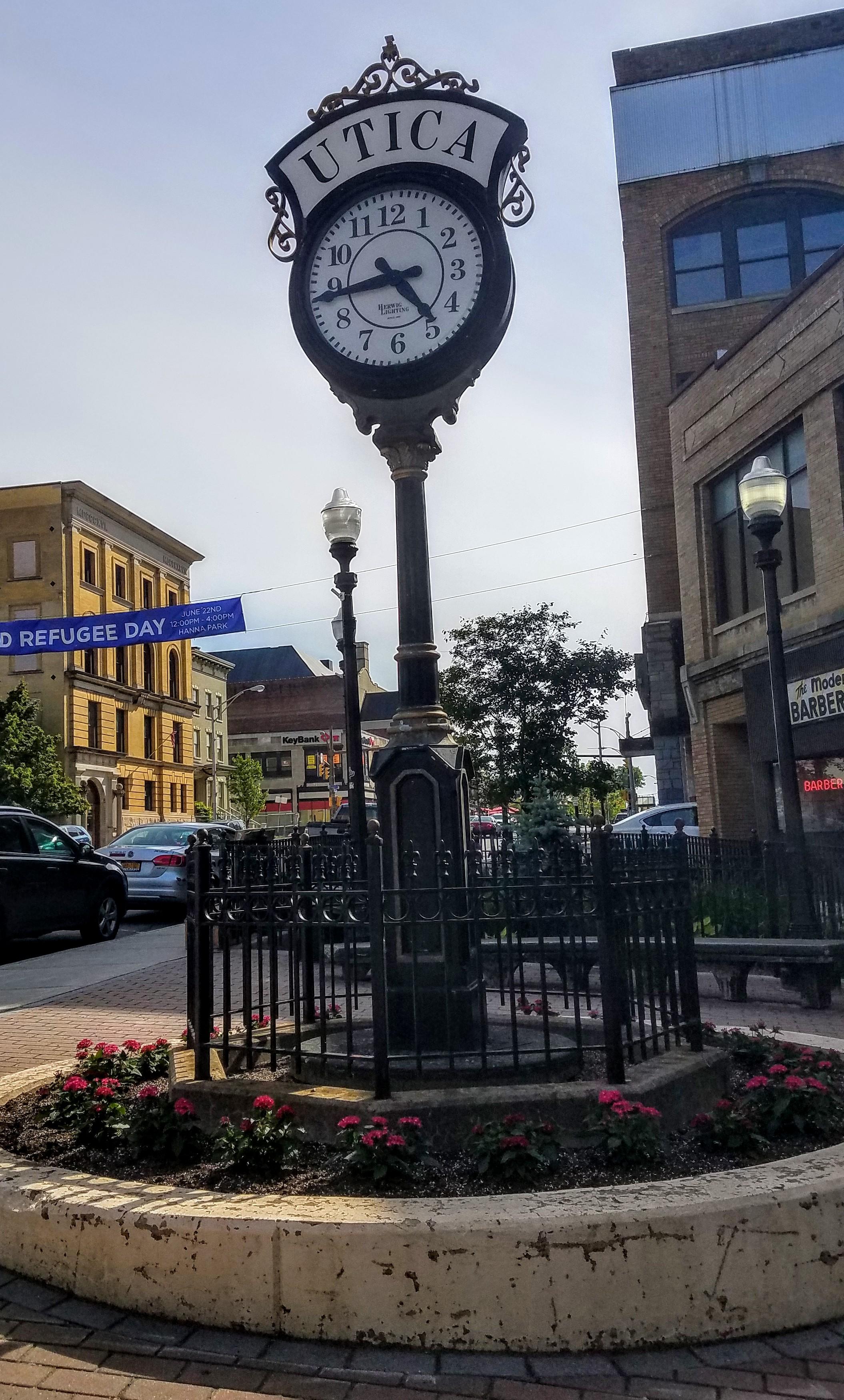 I like these city clocks