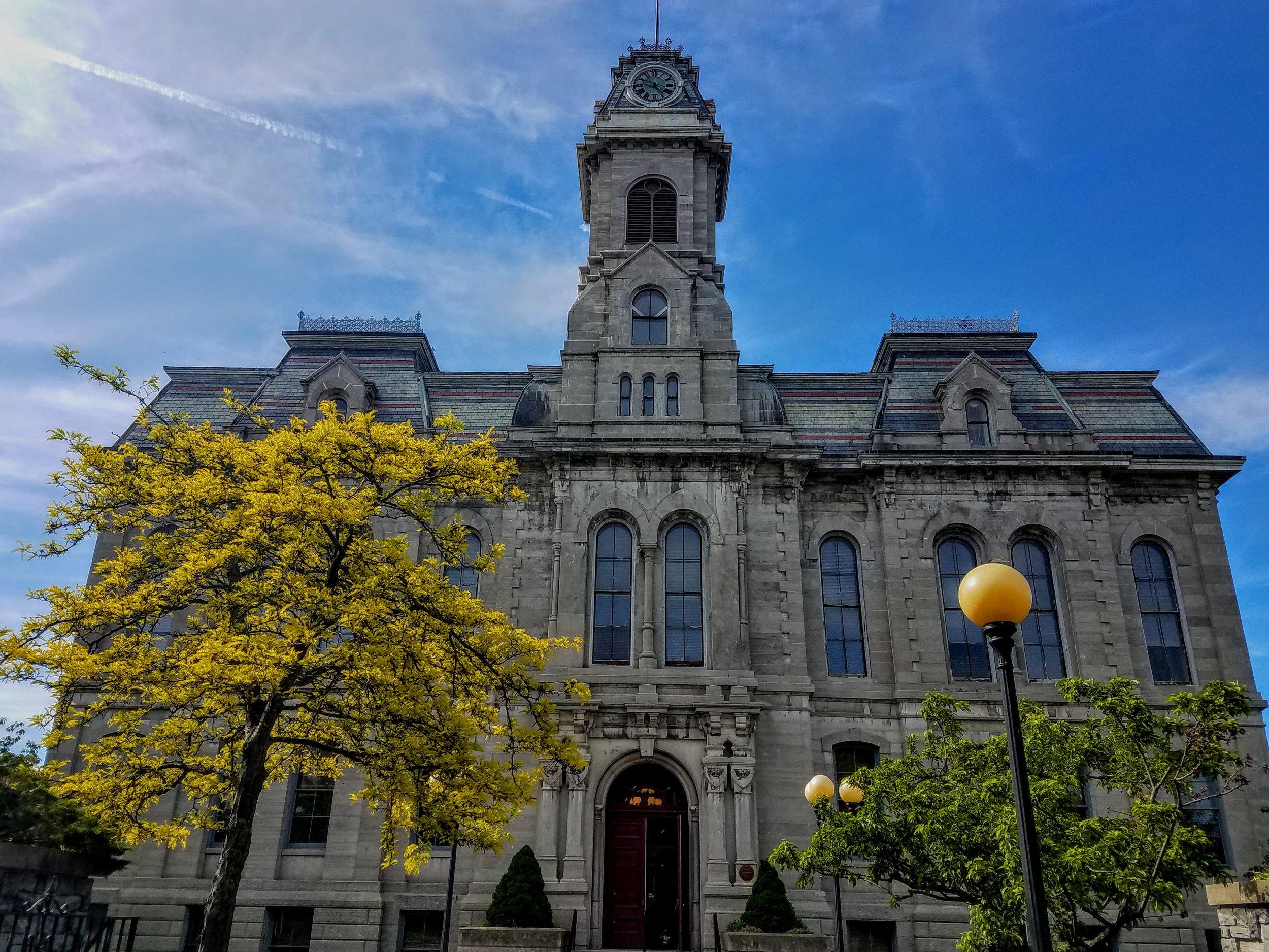 Oswego City Hall built in 1870