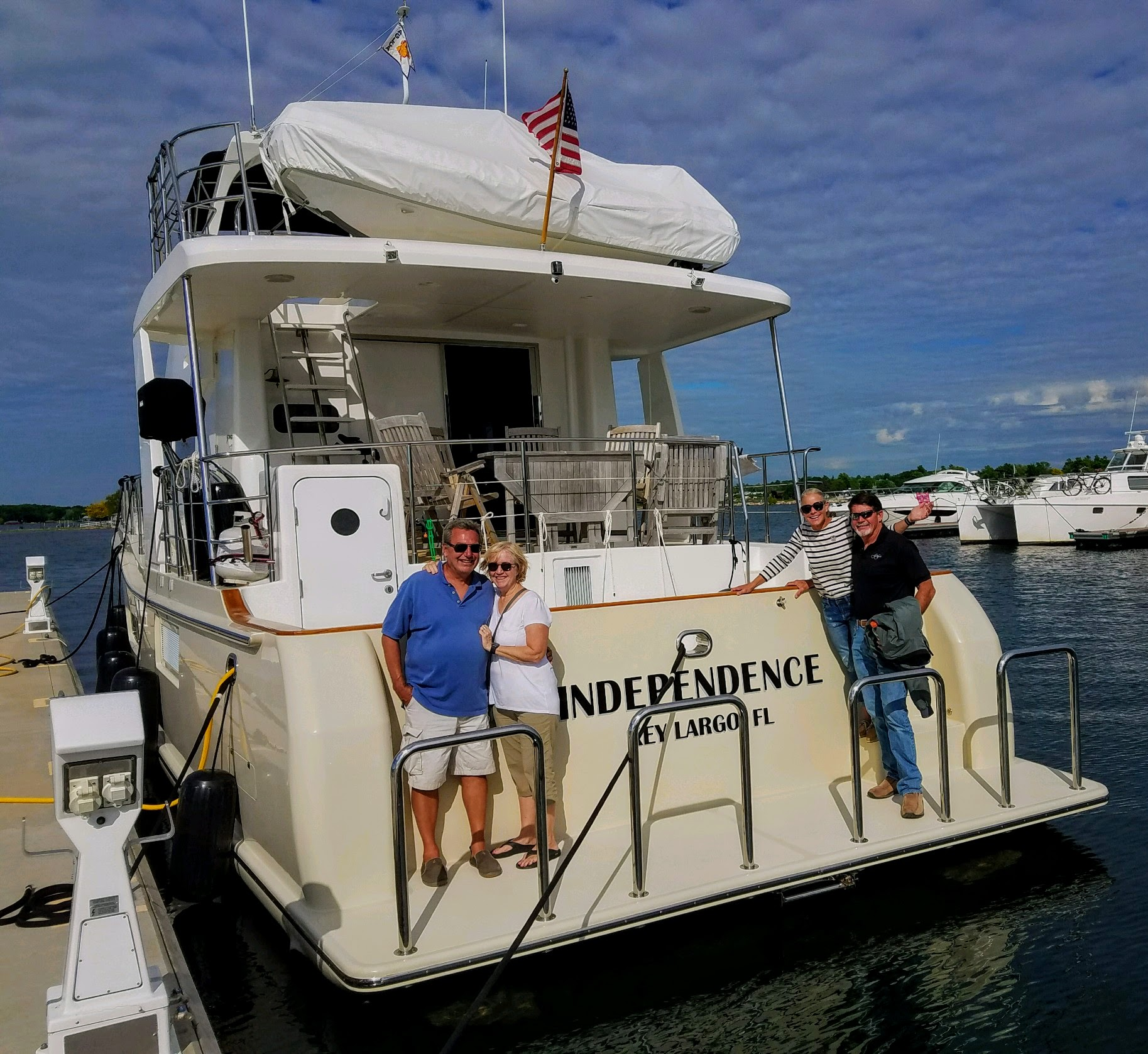 Thank you Rob and Sharron for a great visit to Thousand Islands, Clayton, NY (photo courtesy of Owen Doherty)