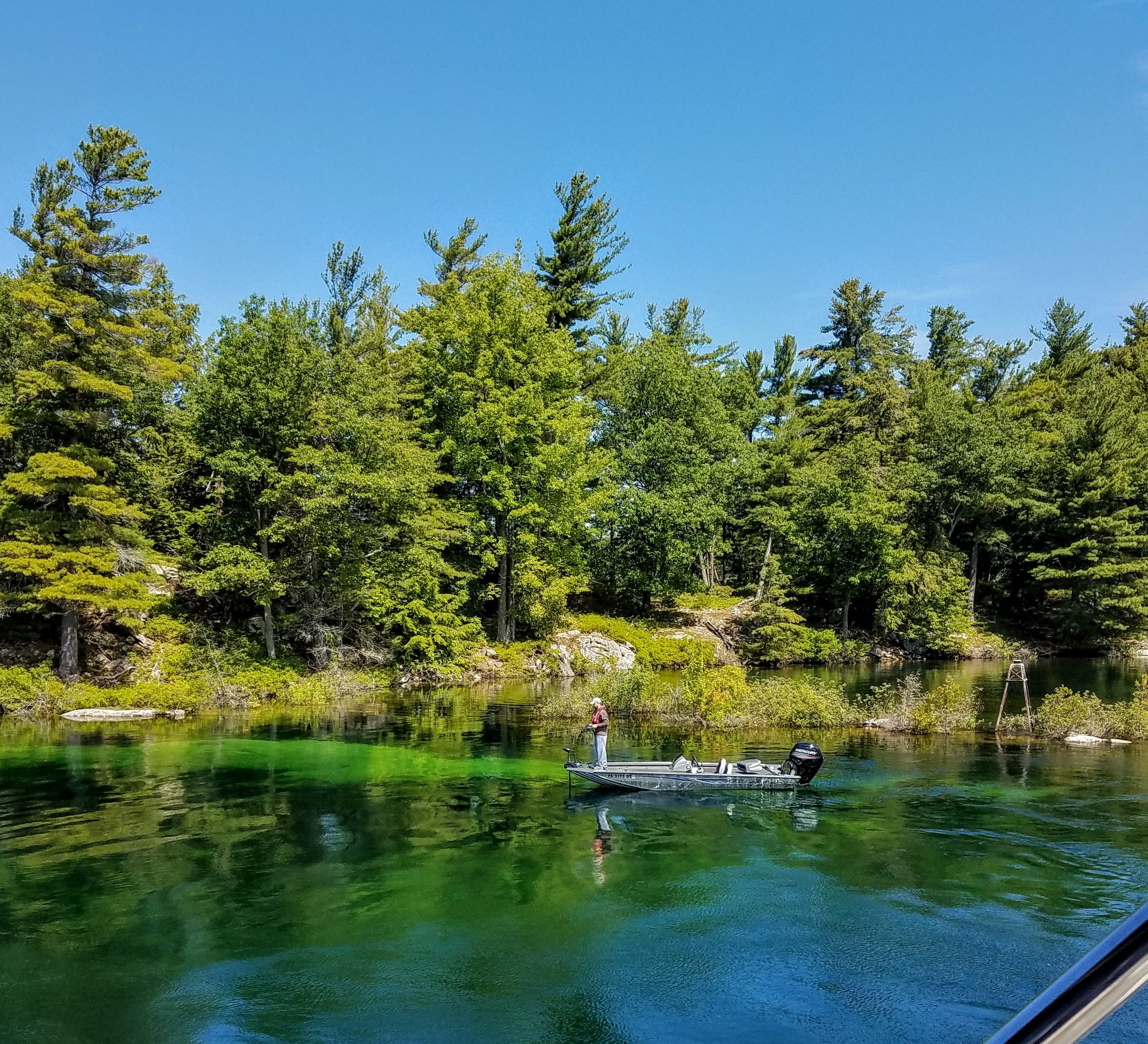 Clear waters and fly fishing