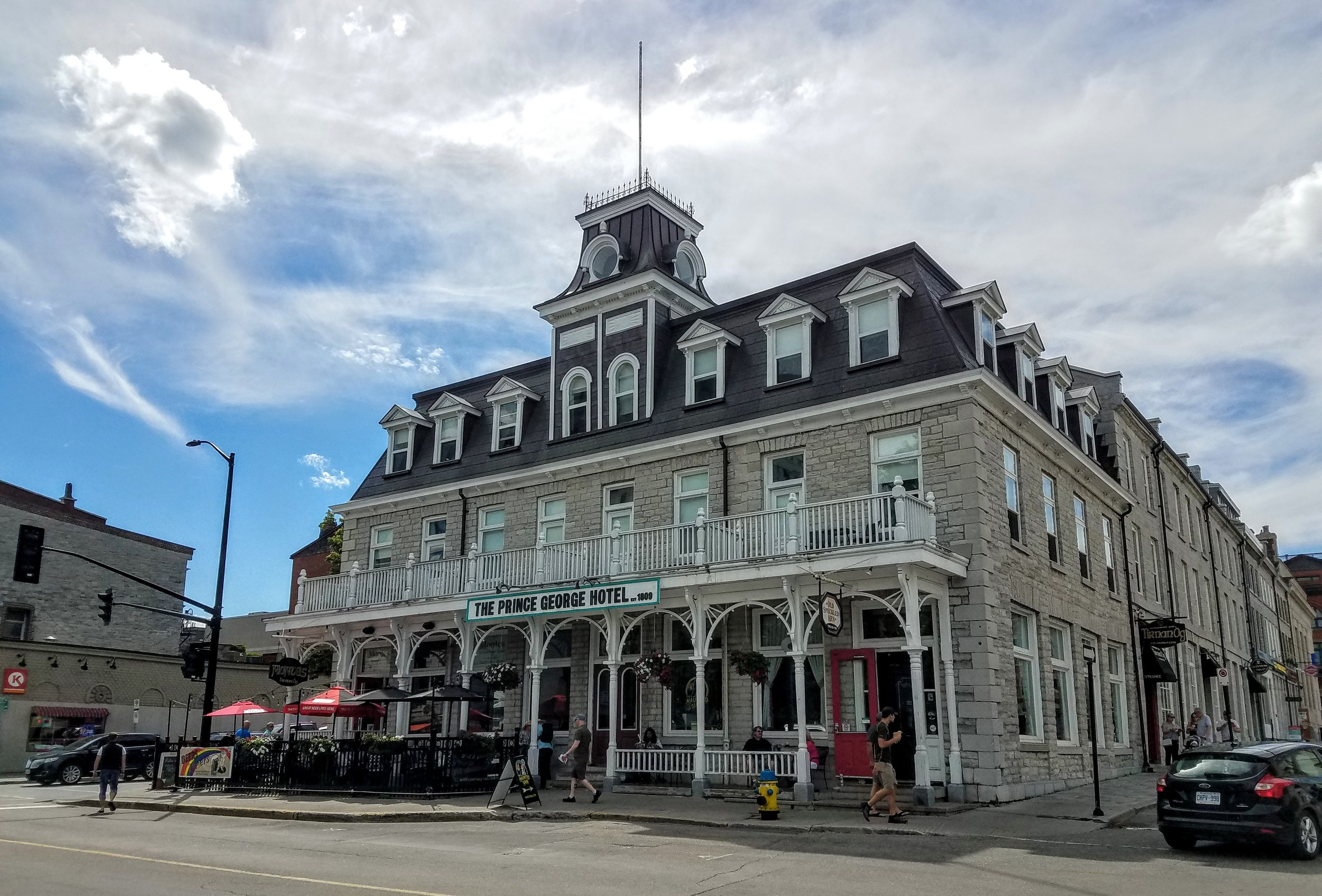 The Prince George Hotel in Kingston