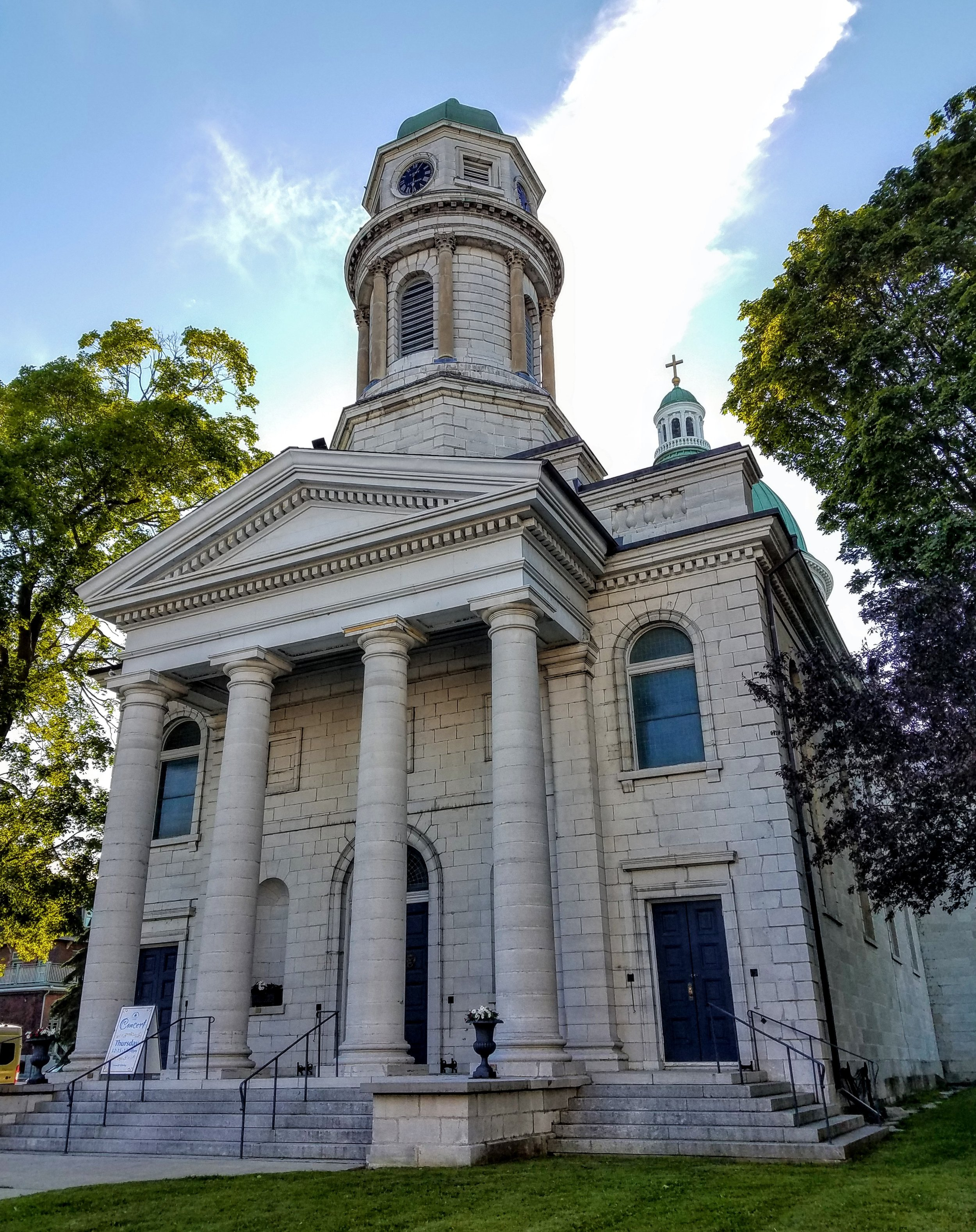 Beautiful stone churches