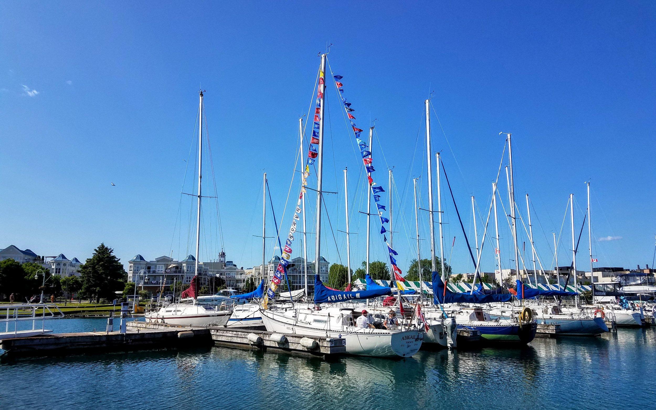 Cobourg, Ontario city marina