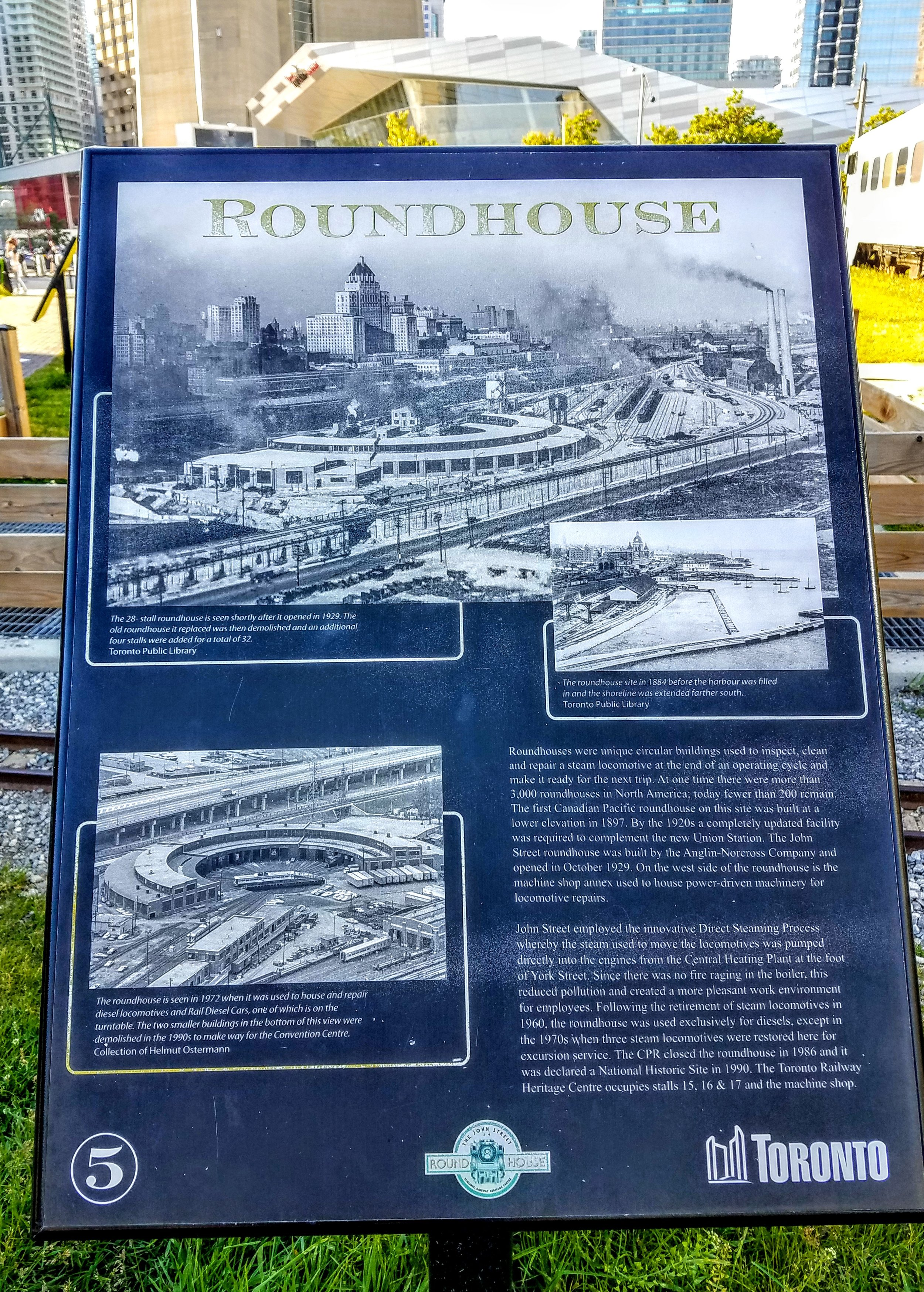 The Roundhouse Railroad Museum