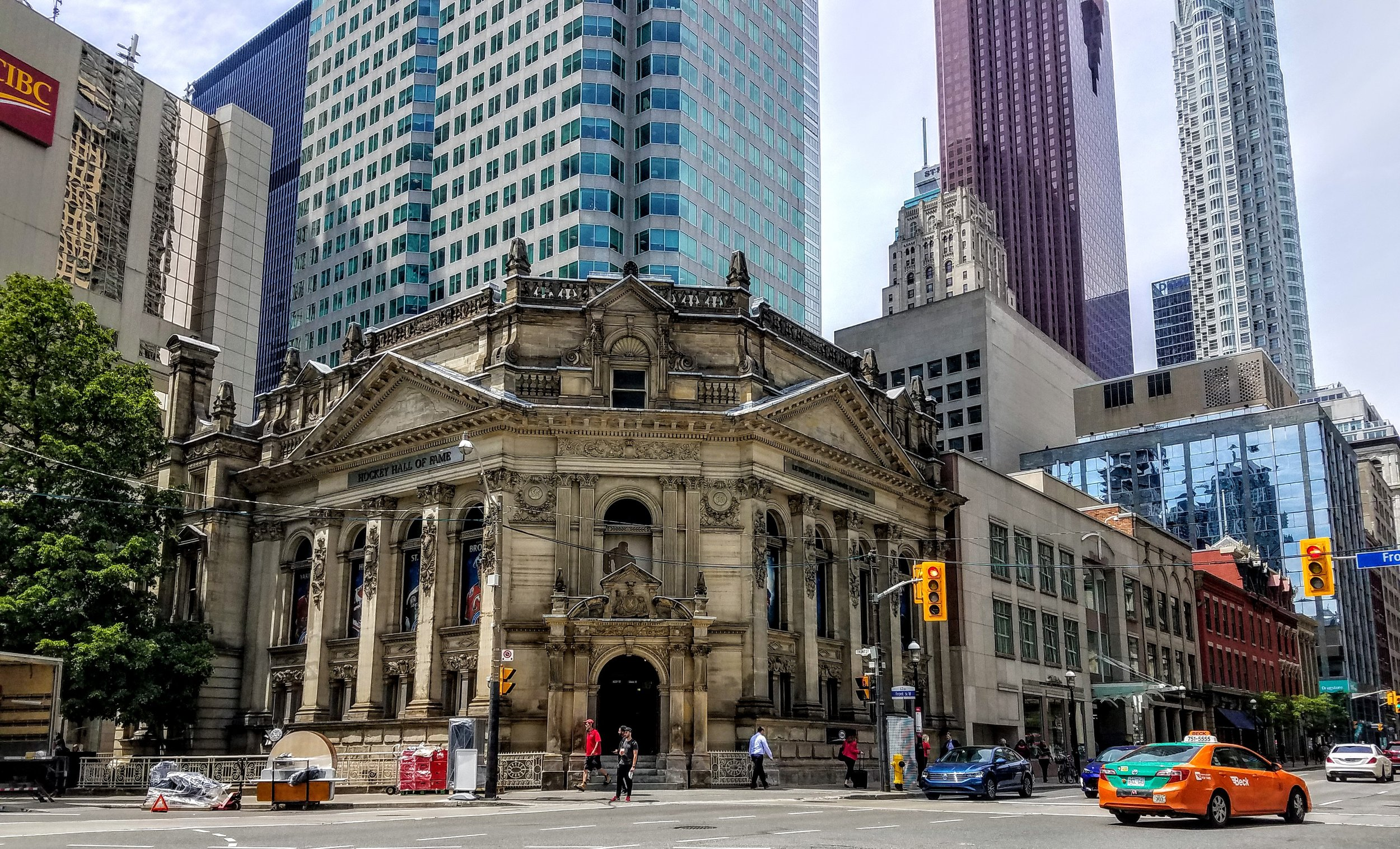 The Hockey Hall of Fame in the Financial District