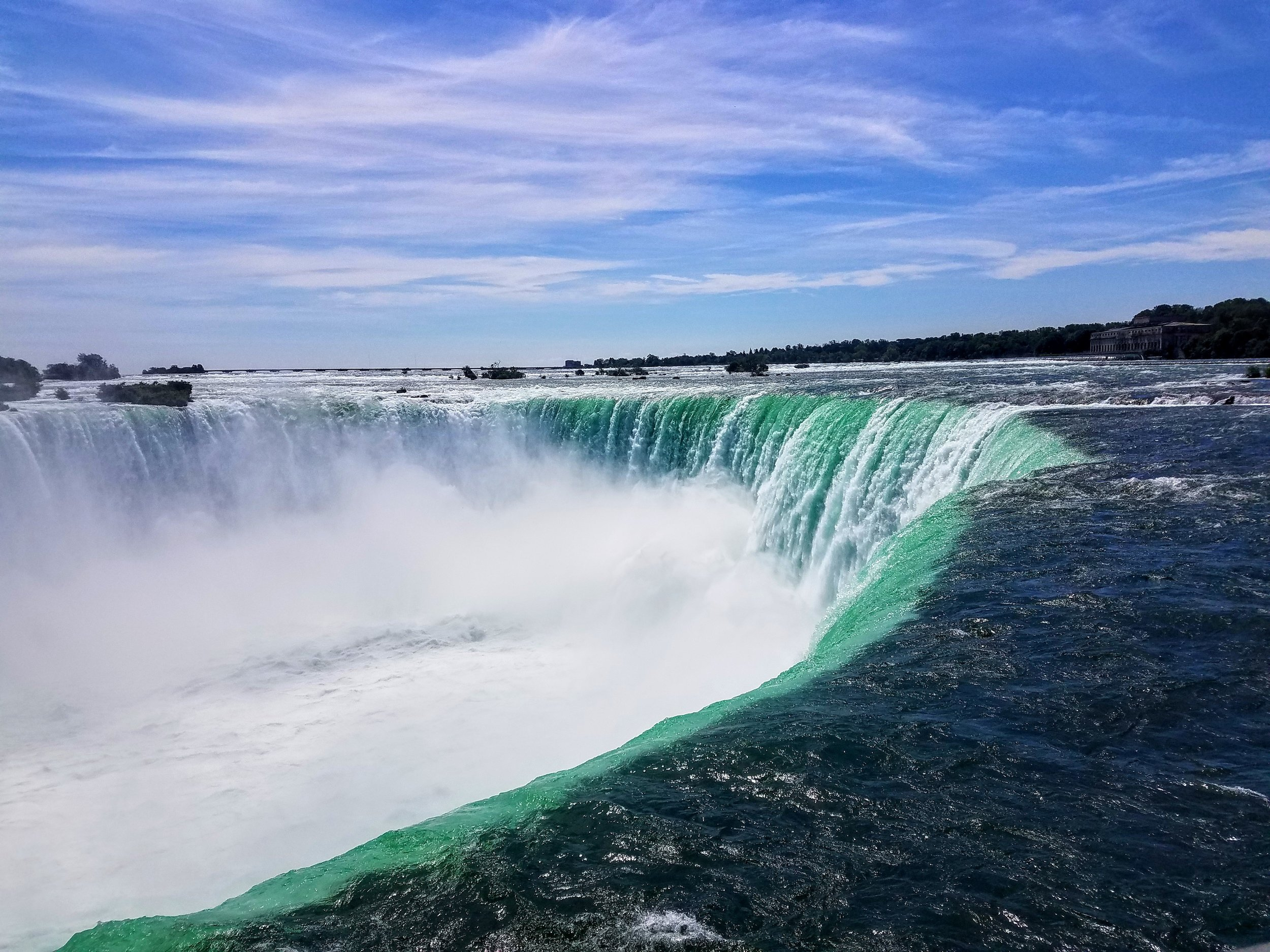 Horseshoe Falls are magnificent but the sound is really what gets you
