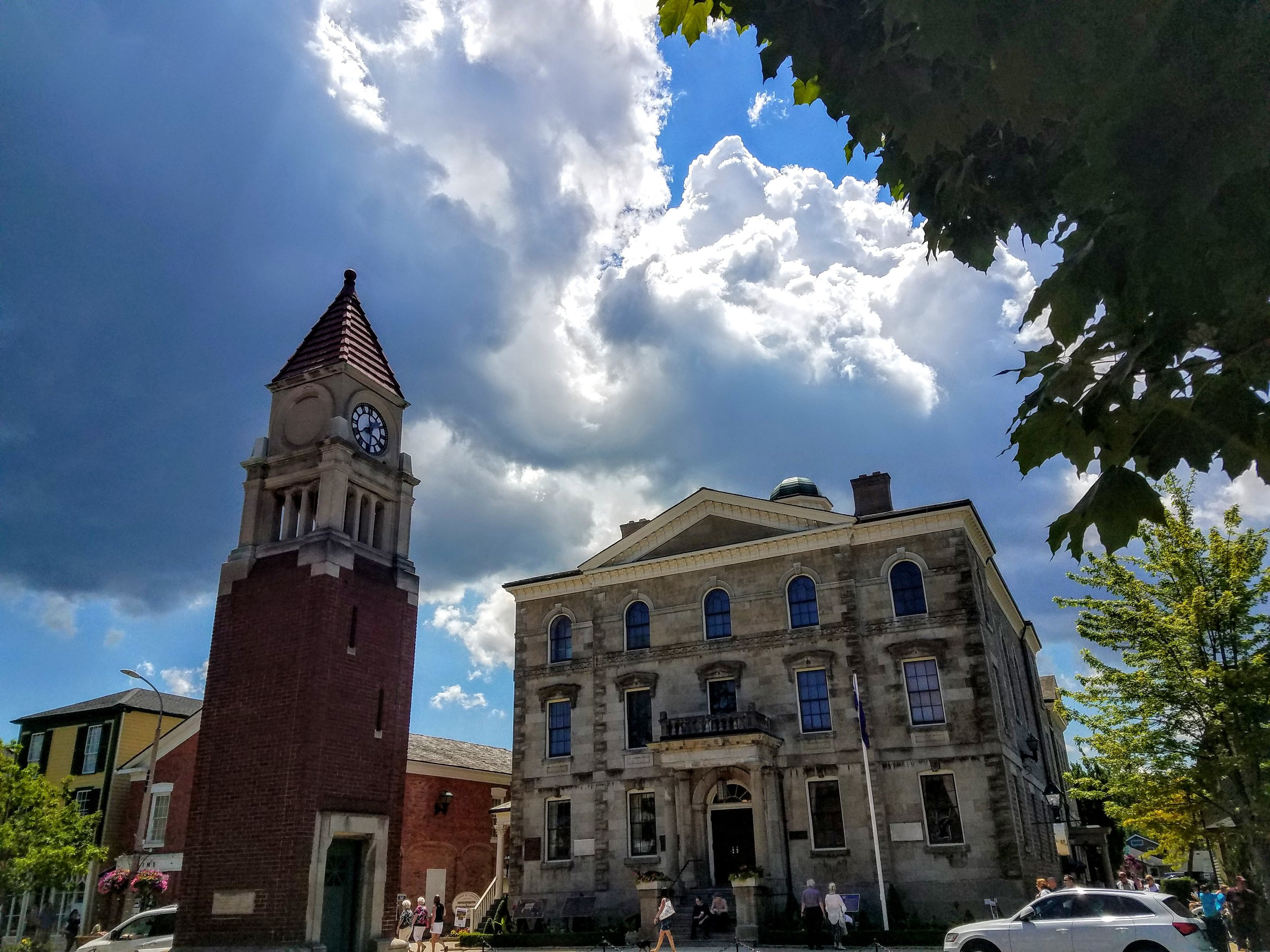 The pretty little town of Niagara-on-the-Lake, ON