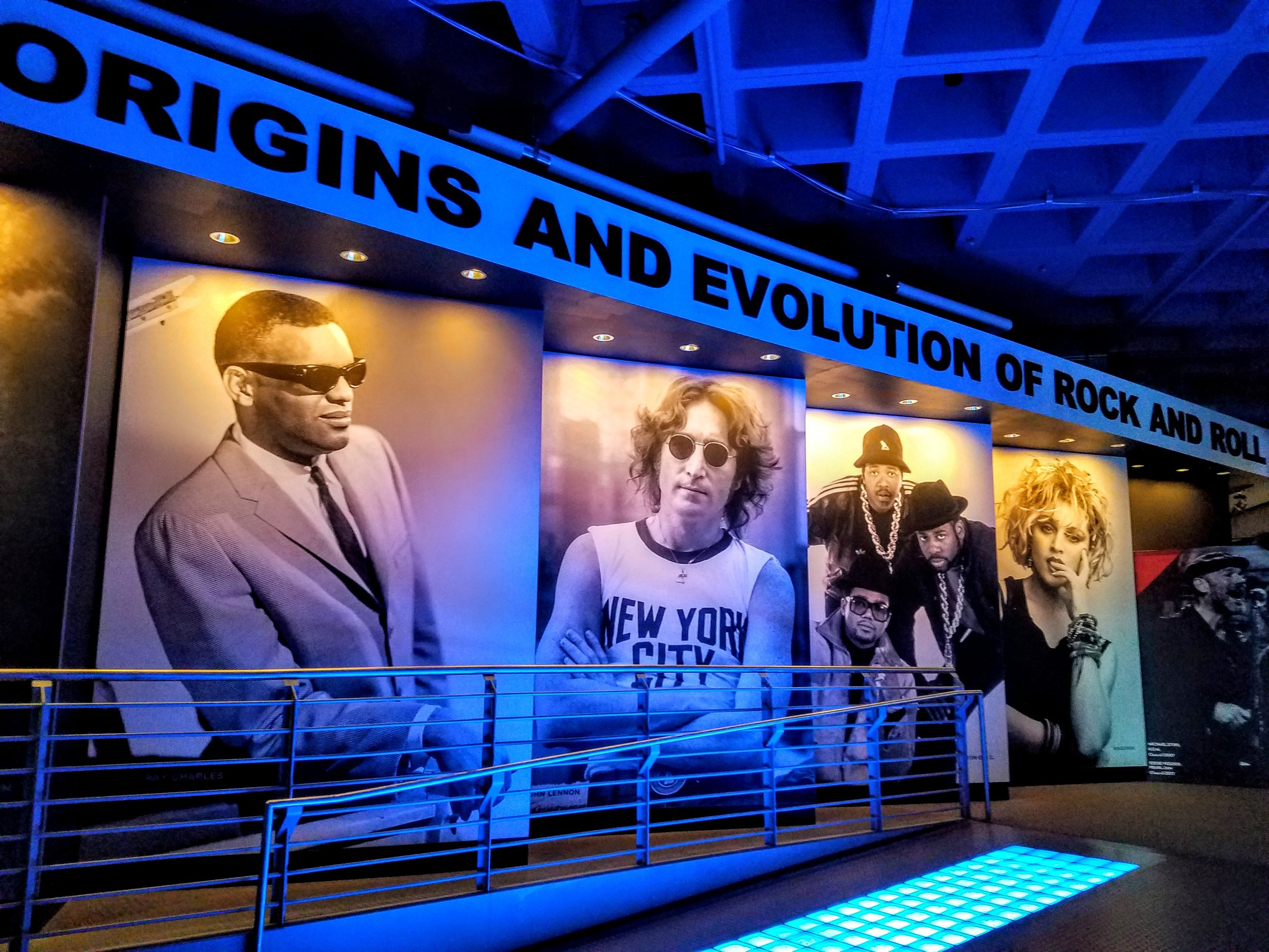 We spent about four hours in the RRHoF…amazing amount of information and memorabilia