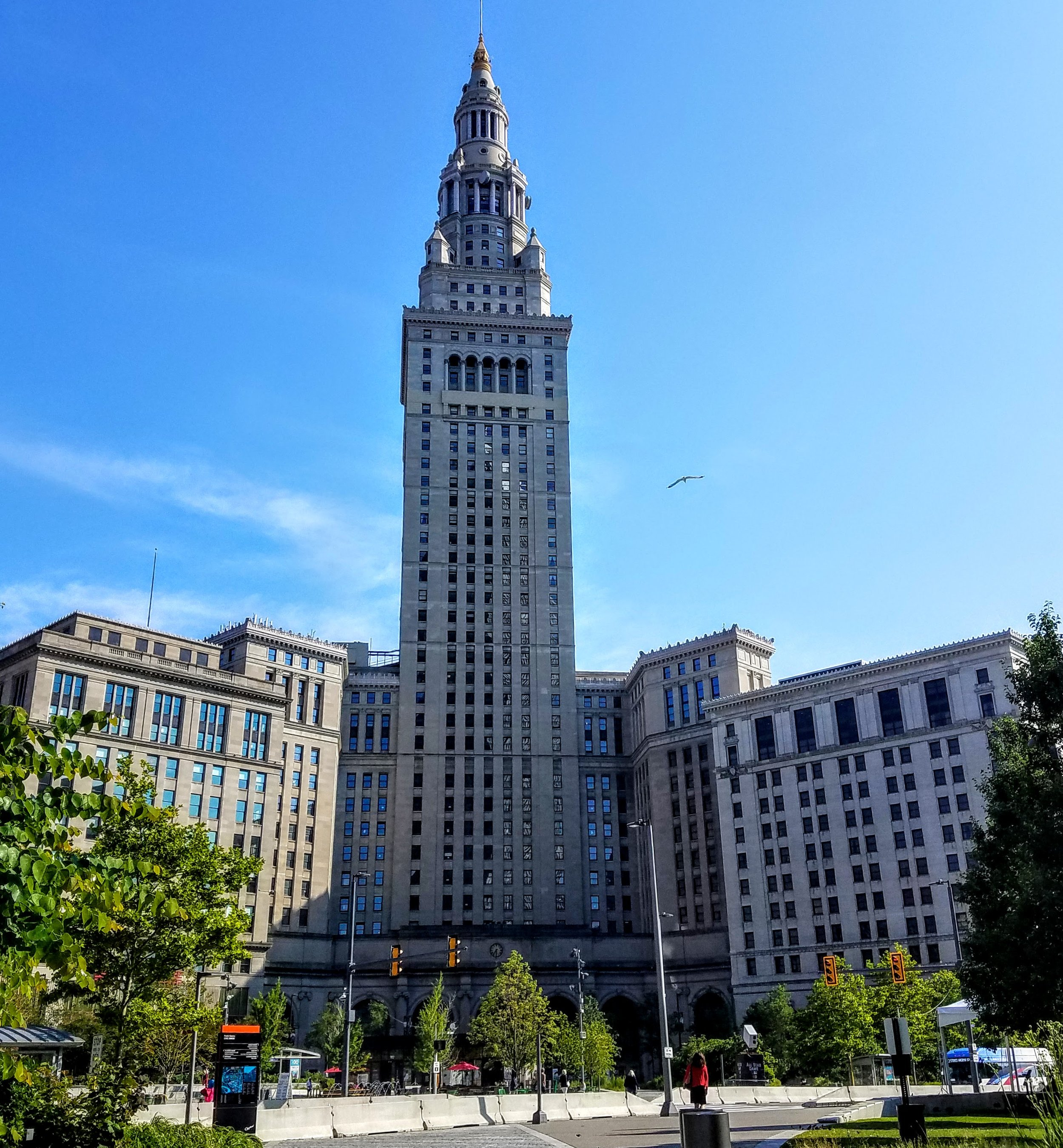 Terminal Tower is a 52-stories and built in 1930.
