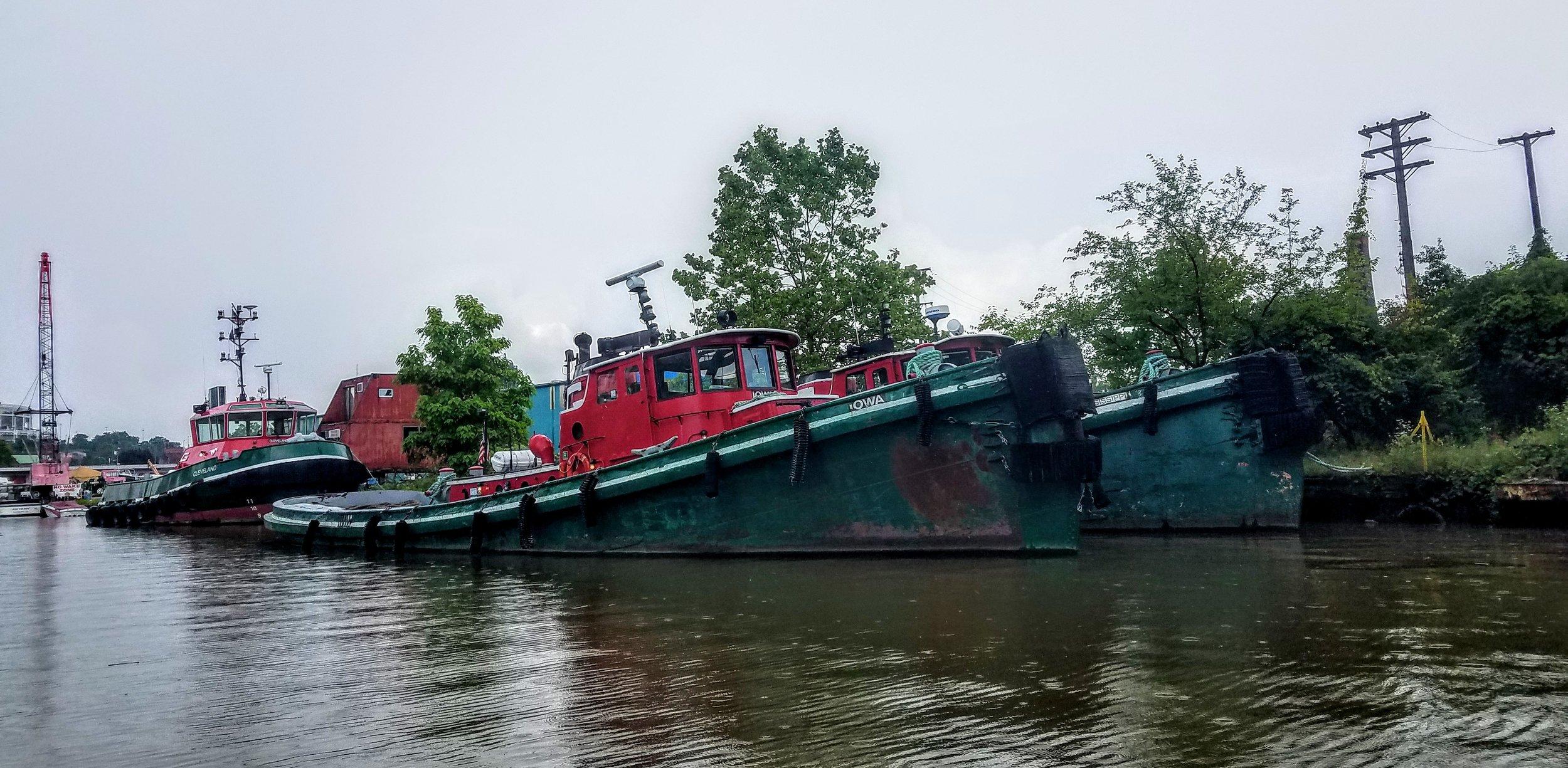 They may have a few years on them but these tugs are still in service
