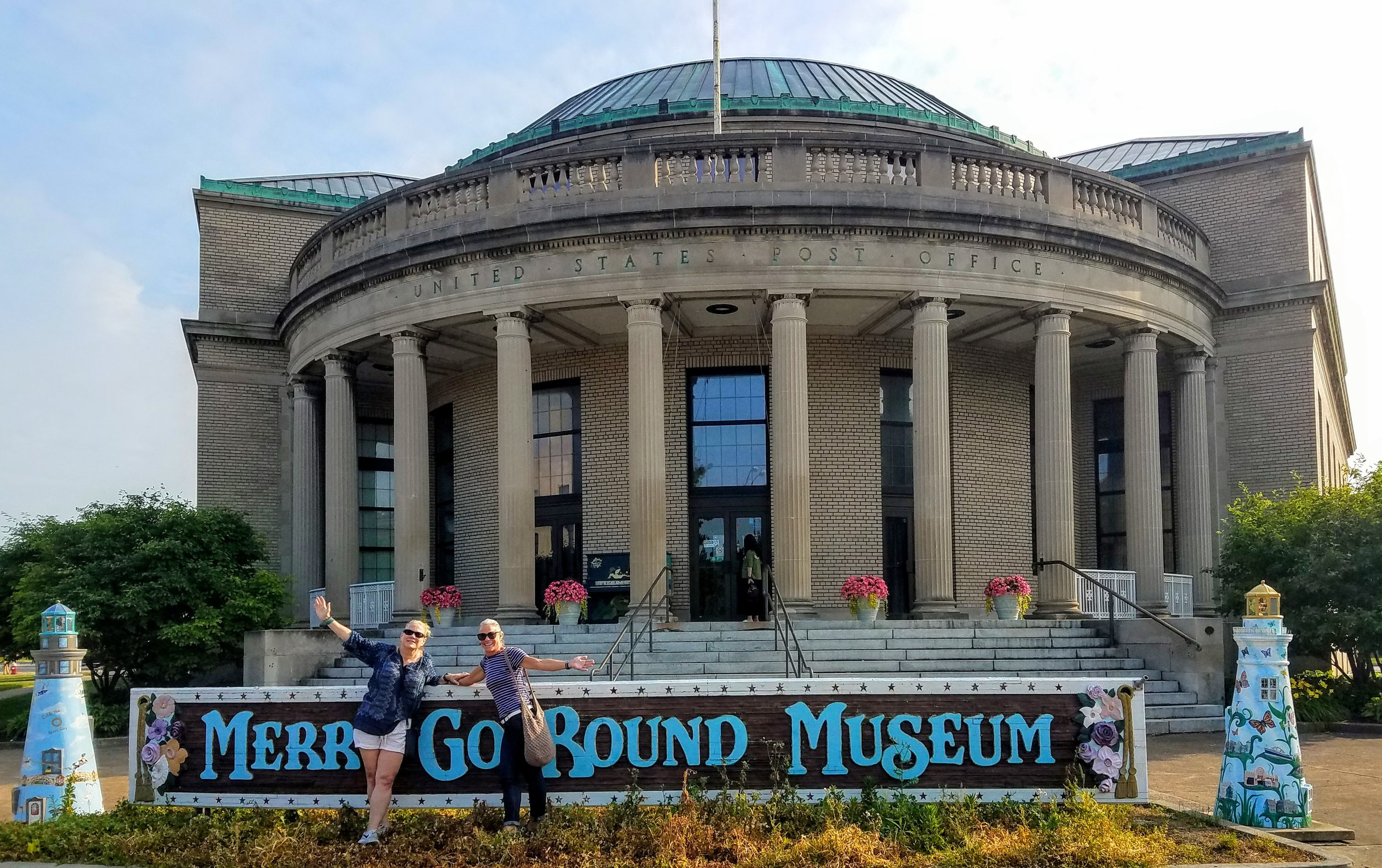 The museum was closed….photo courtesy of Bill Gilmore