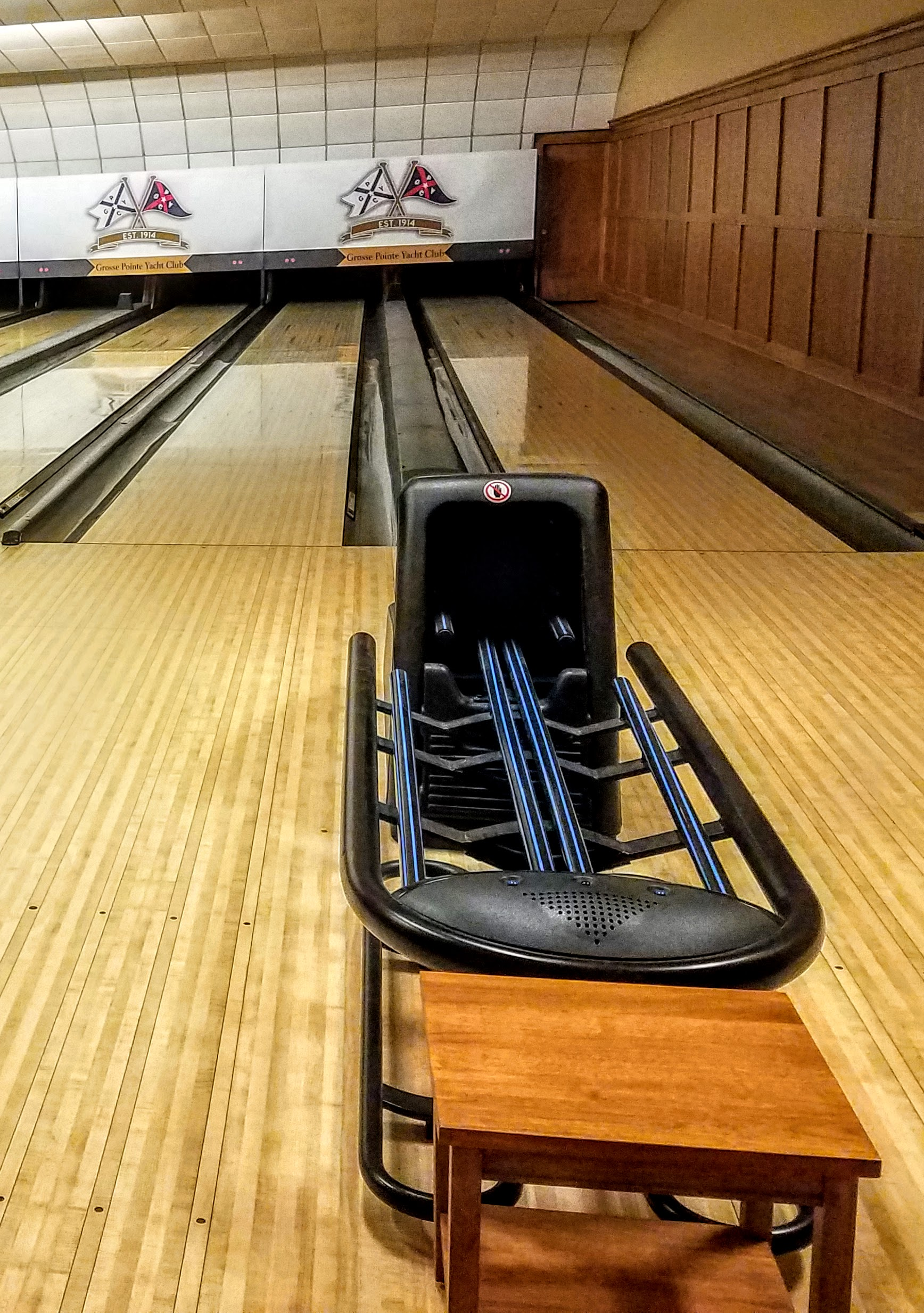GPYC even has a bowling alley (not to mention a pool too!)