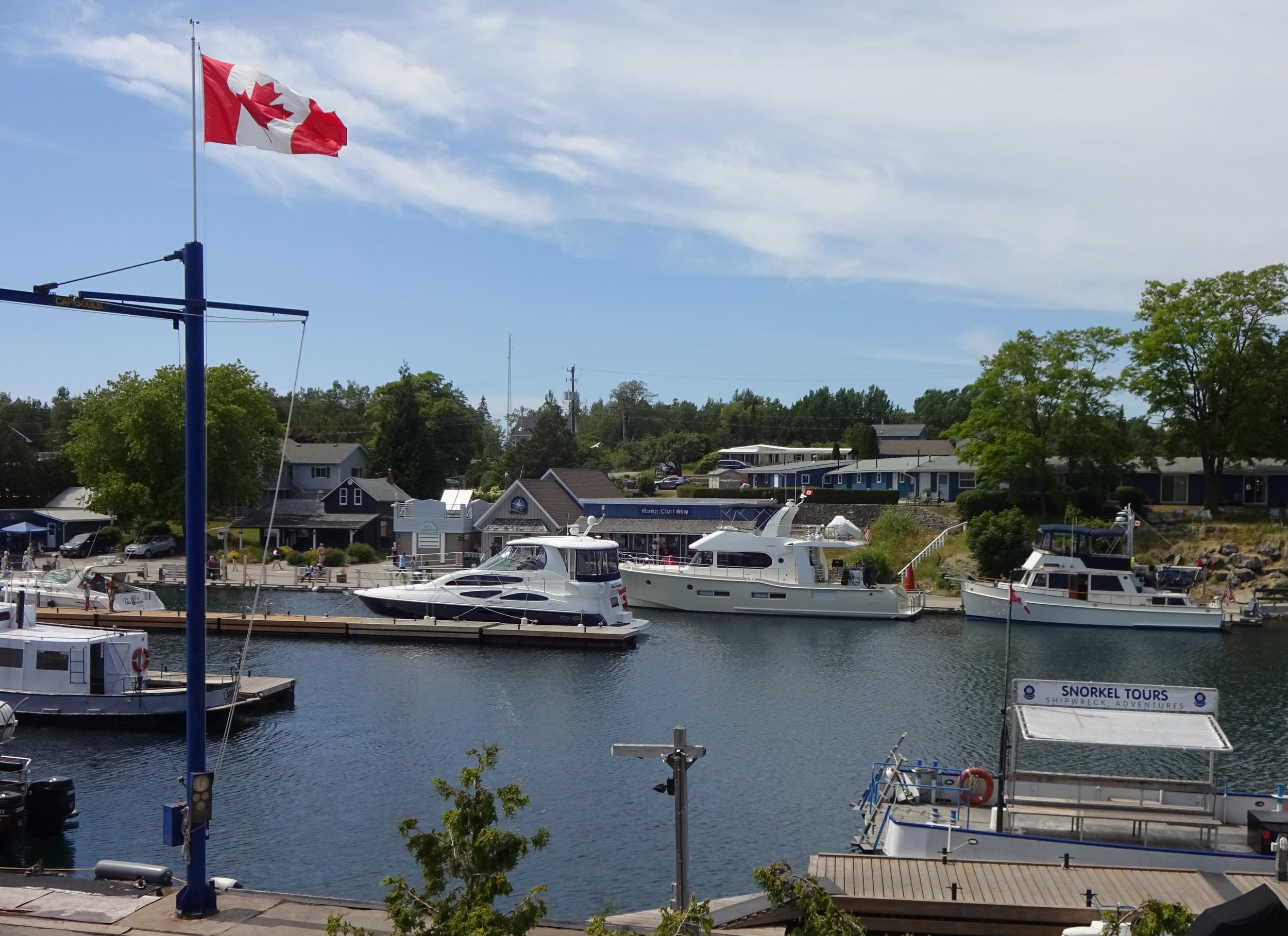 Independence at Tobermory. Photo by Larry McCullough