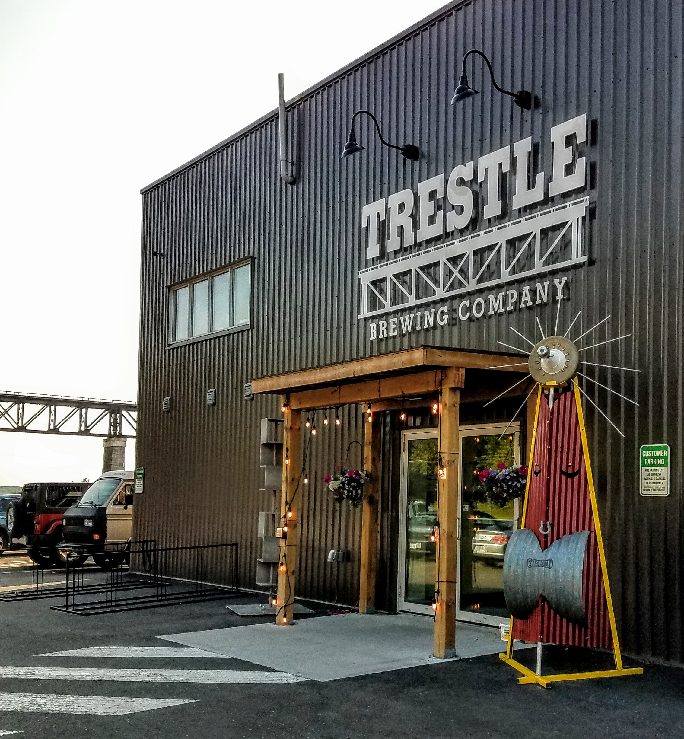 Had to check out the new Trestle Brewing Company