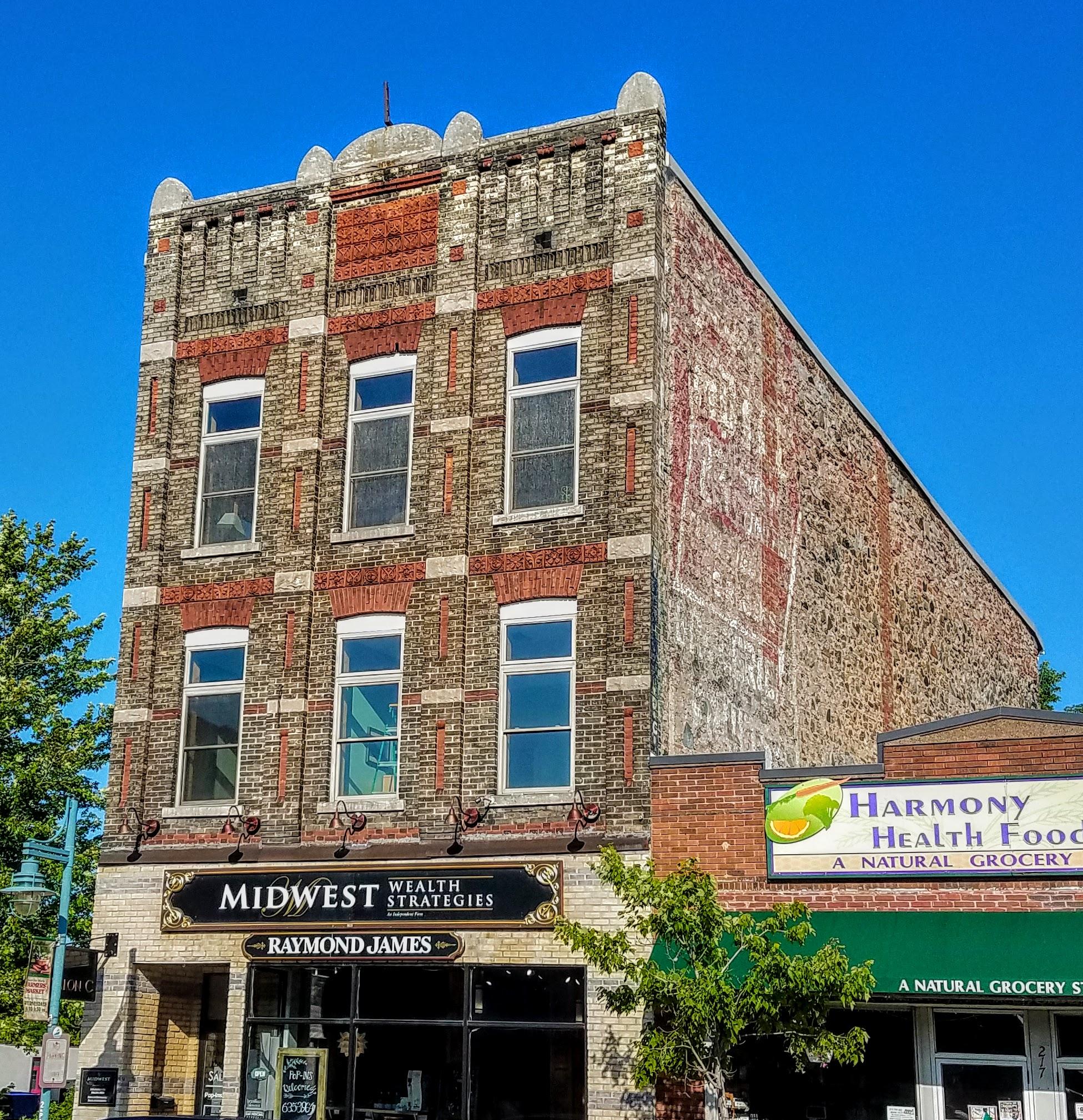 Love the old brick buildings of Sault Ste. Marie, MI