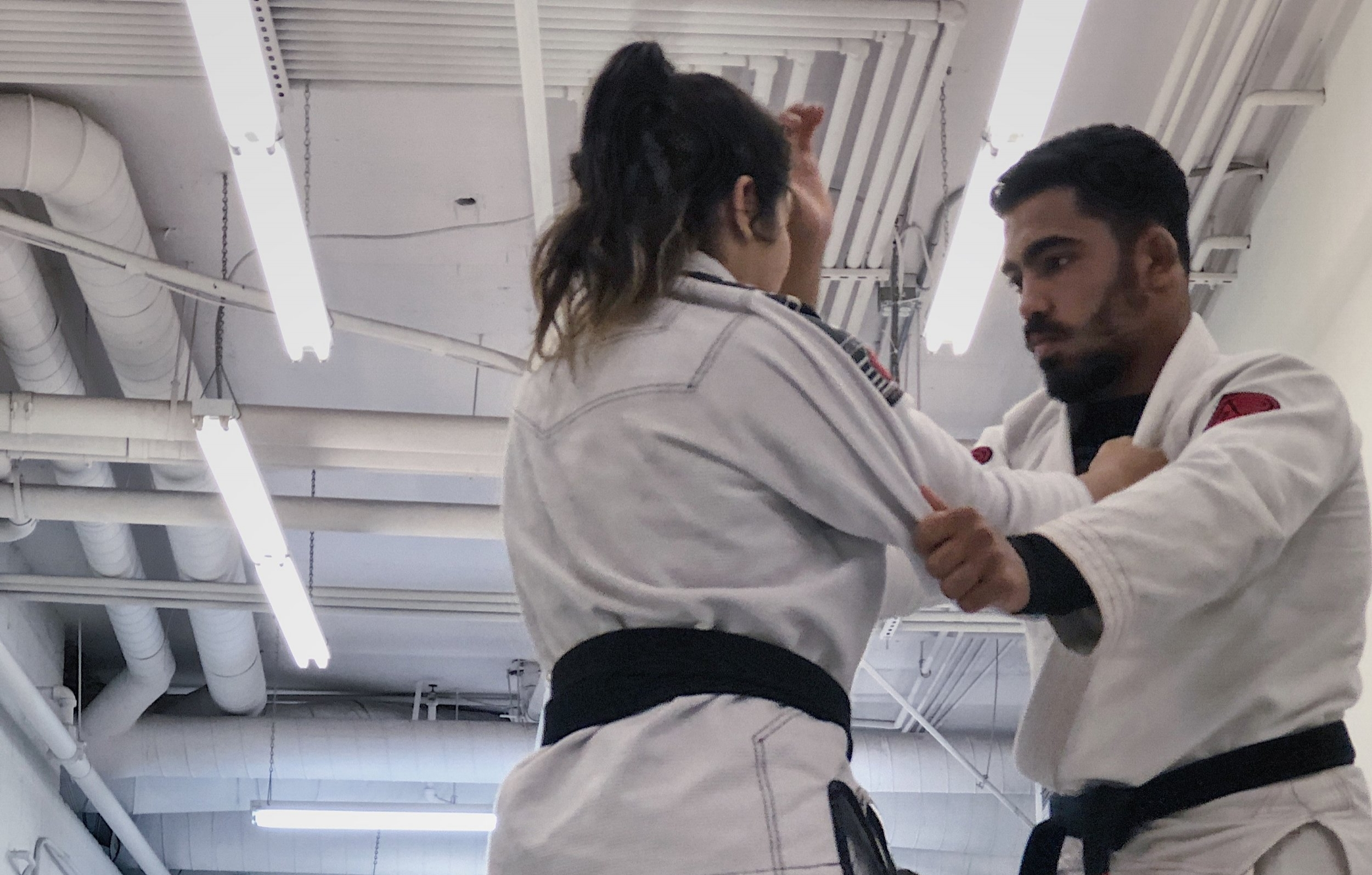 Jiu Jitsu and Self Defense training for Men and Women of all ages and levels in the Woodland Hills, Encino, Calabasas, Canoga Park and Tarzana area.