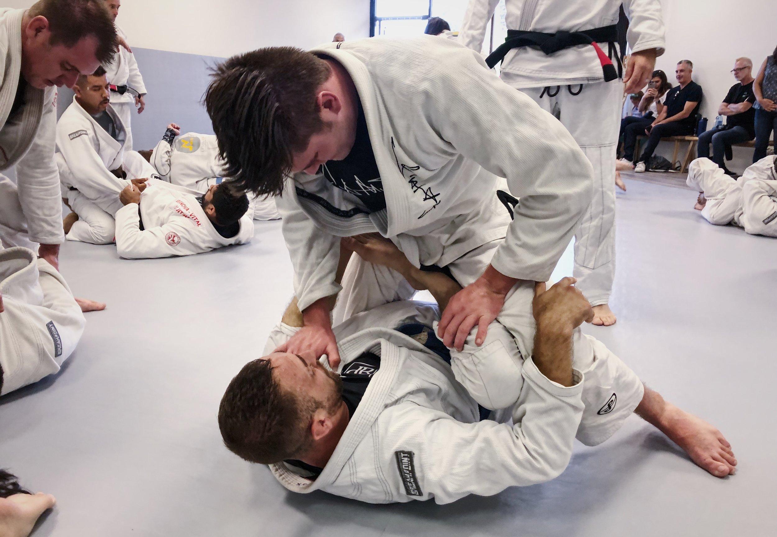 Advanced and Competition Jiu Jitsu Training