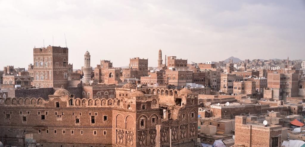 Sana'a, the capital of Yemen. Photo by Rod Waddington.
