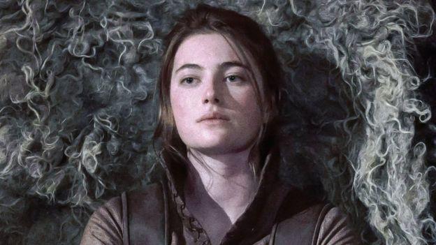 Aethelflaed, portrayed by Millie Brady in The Last Kingdom on Netflix