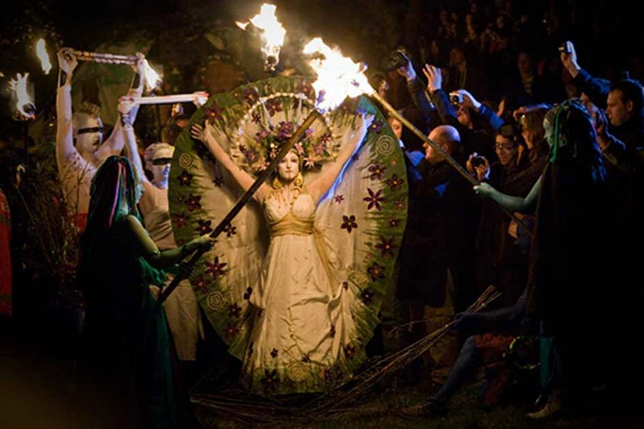 Beltane Fire Festival Celebrations