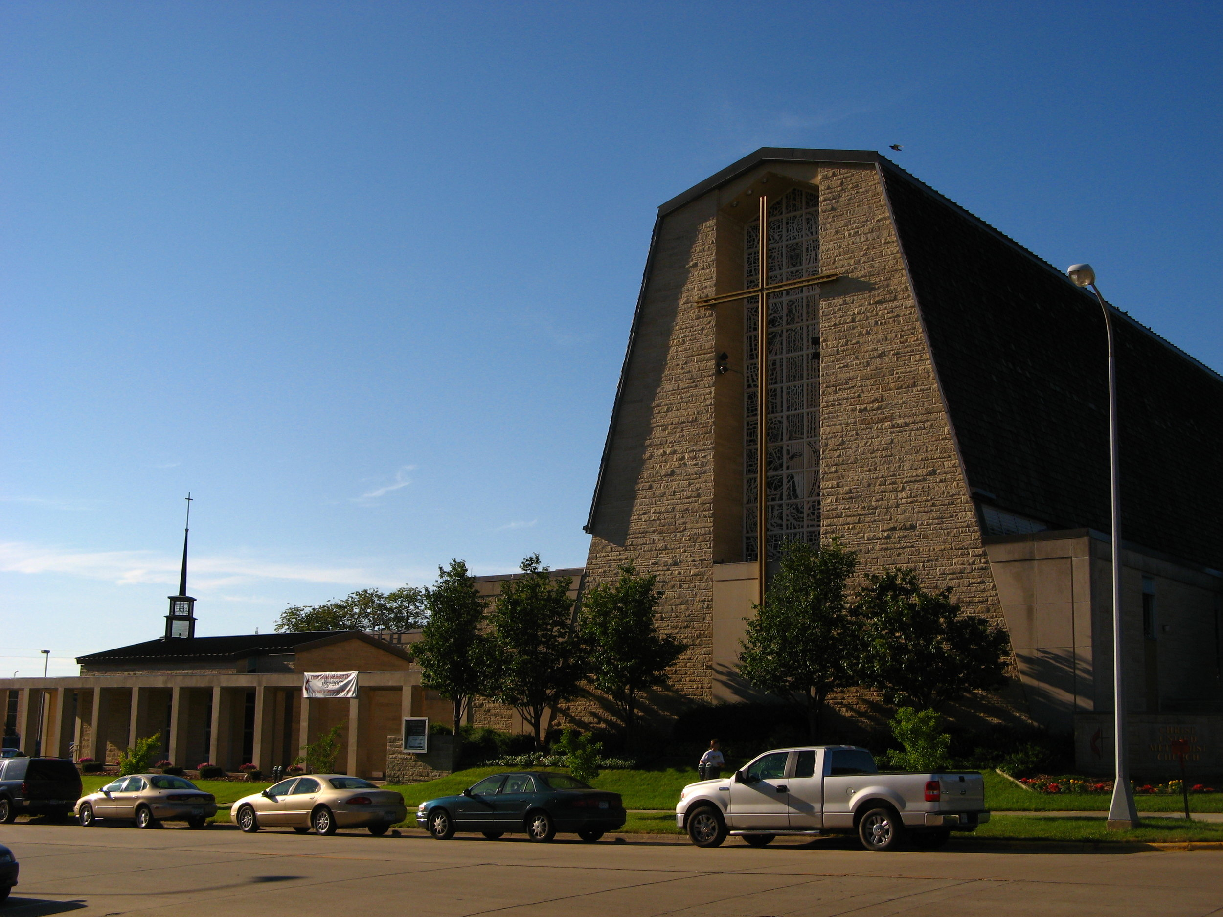 Christ UMC, Rochester. Photo credit: Wikimedia Commons