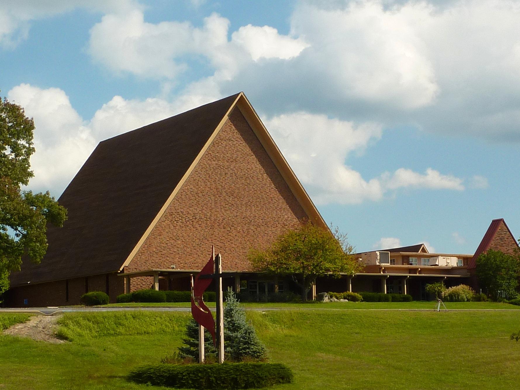 St. Mark's UMC, Bloomington. Photo credit: Wikimedia Commons