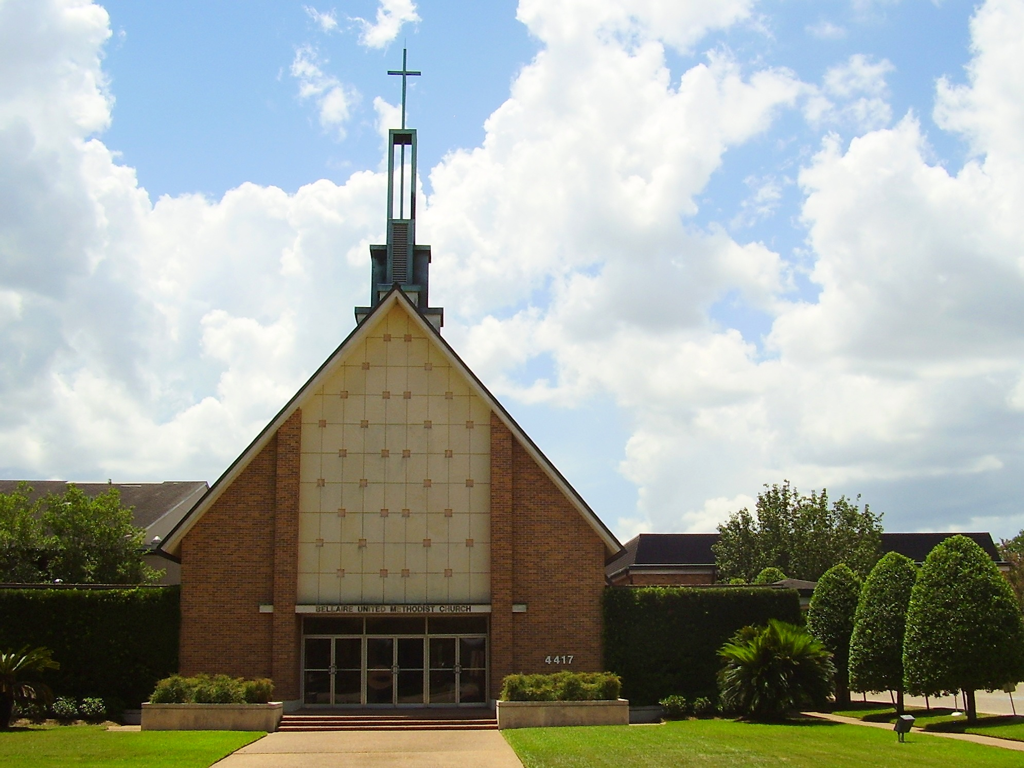 Bellaire UMC. Photo credit: Wikimedia Commons
