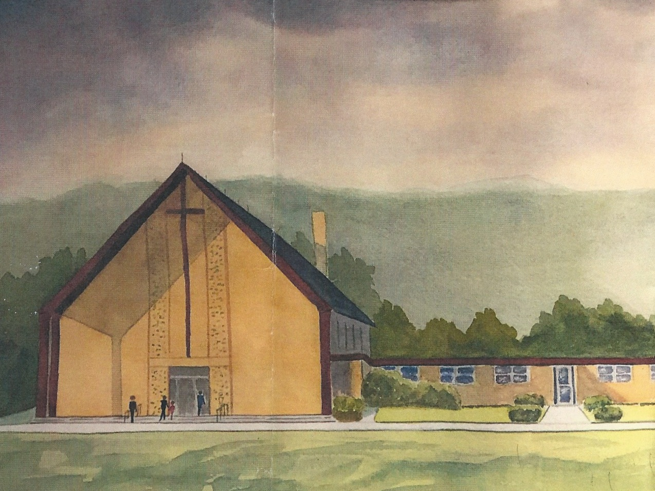 Poughkeepsie UMC. Image credit: Marcy Conners, Church Historian