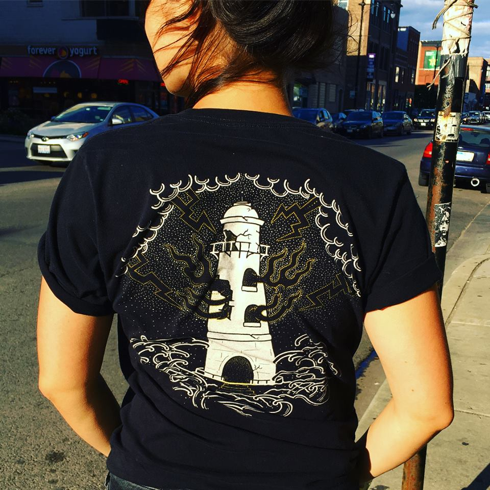 Unique Graphic T Shirts Chicago Sound and Fury