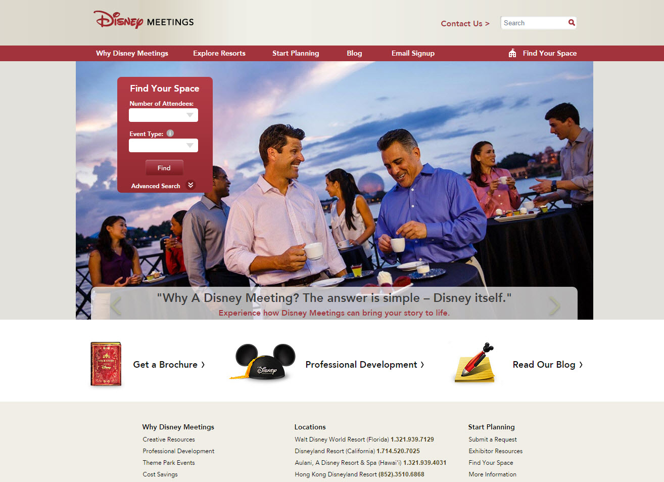 DISNEYLANDMEETINGS.COM