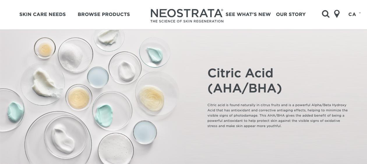 neostrata citric acid.png