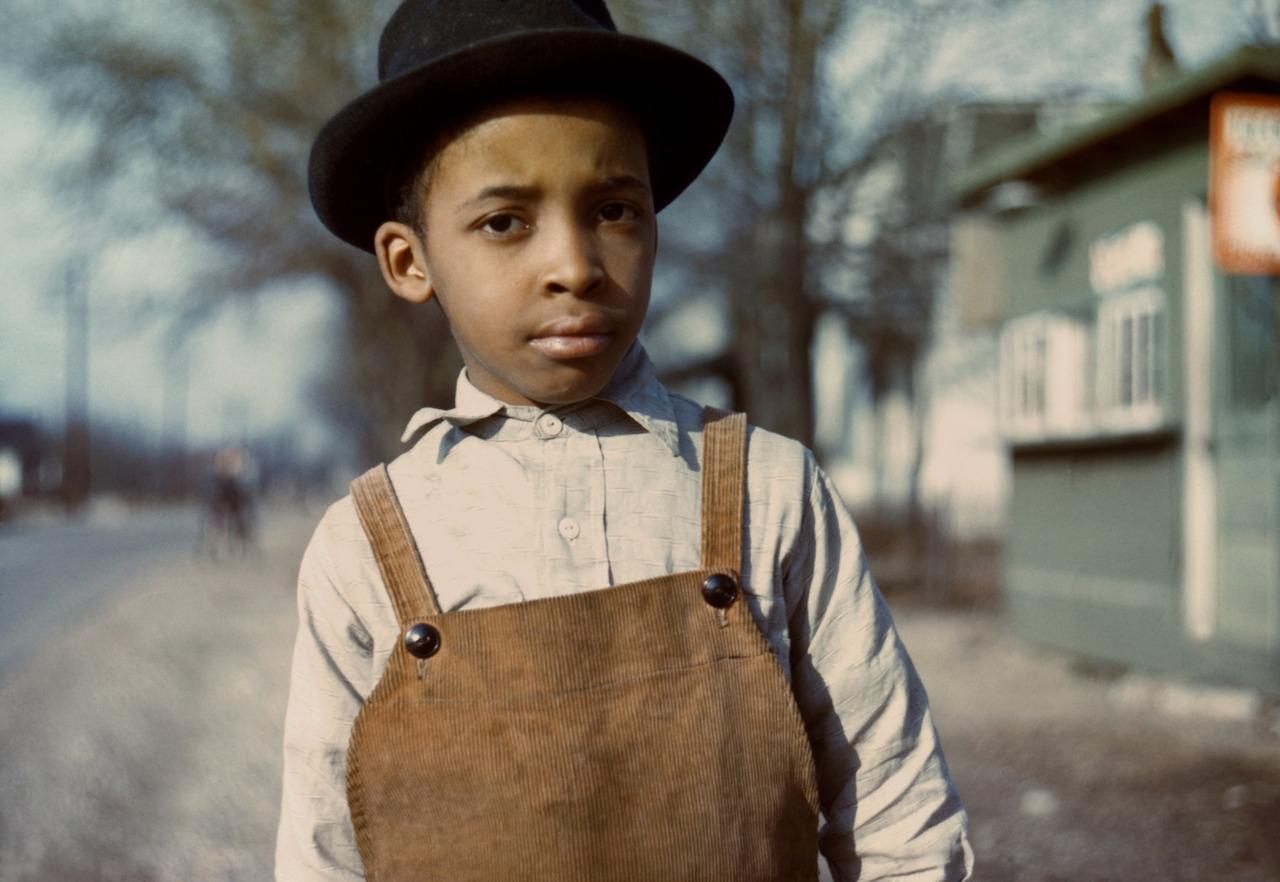 Boy, Near Cincinnati, Ohio, Photo by John Vachon, c. 1943